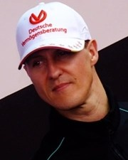 Formula 1 Driver Michael Schumacher