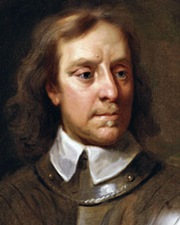 English Military and Political Leader Oliver Cromwell