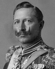 German Emperor and King of Prussia Wilhelm II