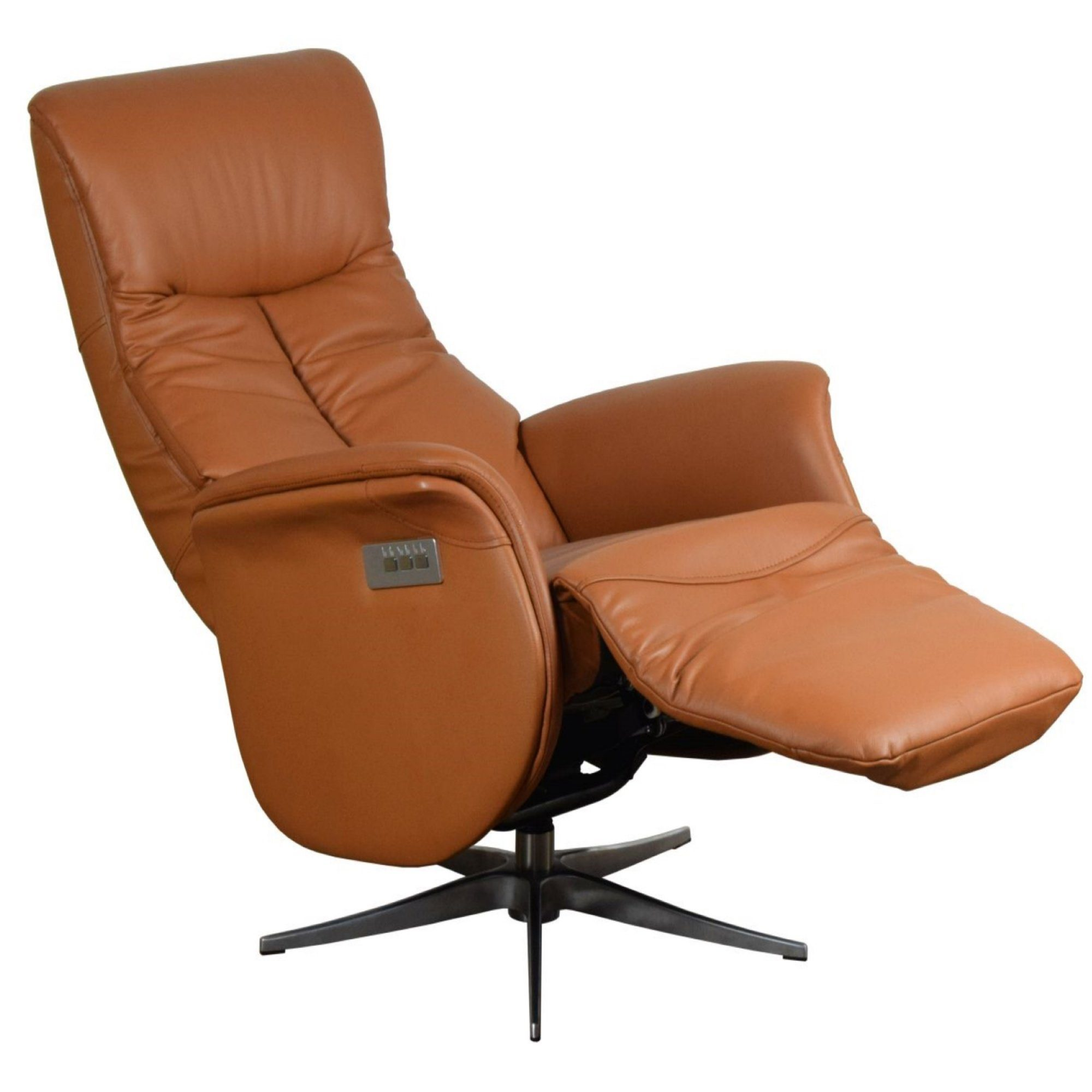 Sessel Leder Cognac Louming Tv-sessel »premium Fernsehsessel In Cognac-braun Mit 3 Motoren, Relaxfunktion, Premium Leder & Kunstleder, Aluminium Gestell, 360° Drehbar, Retro-design« Online Kaufen | Otto