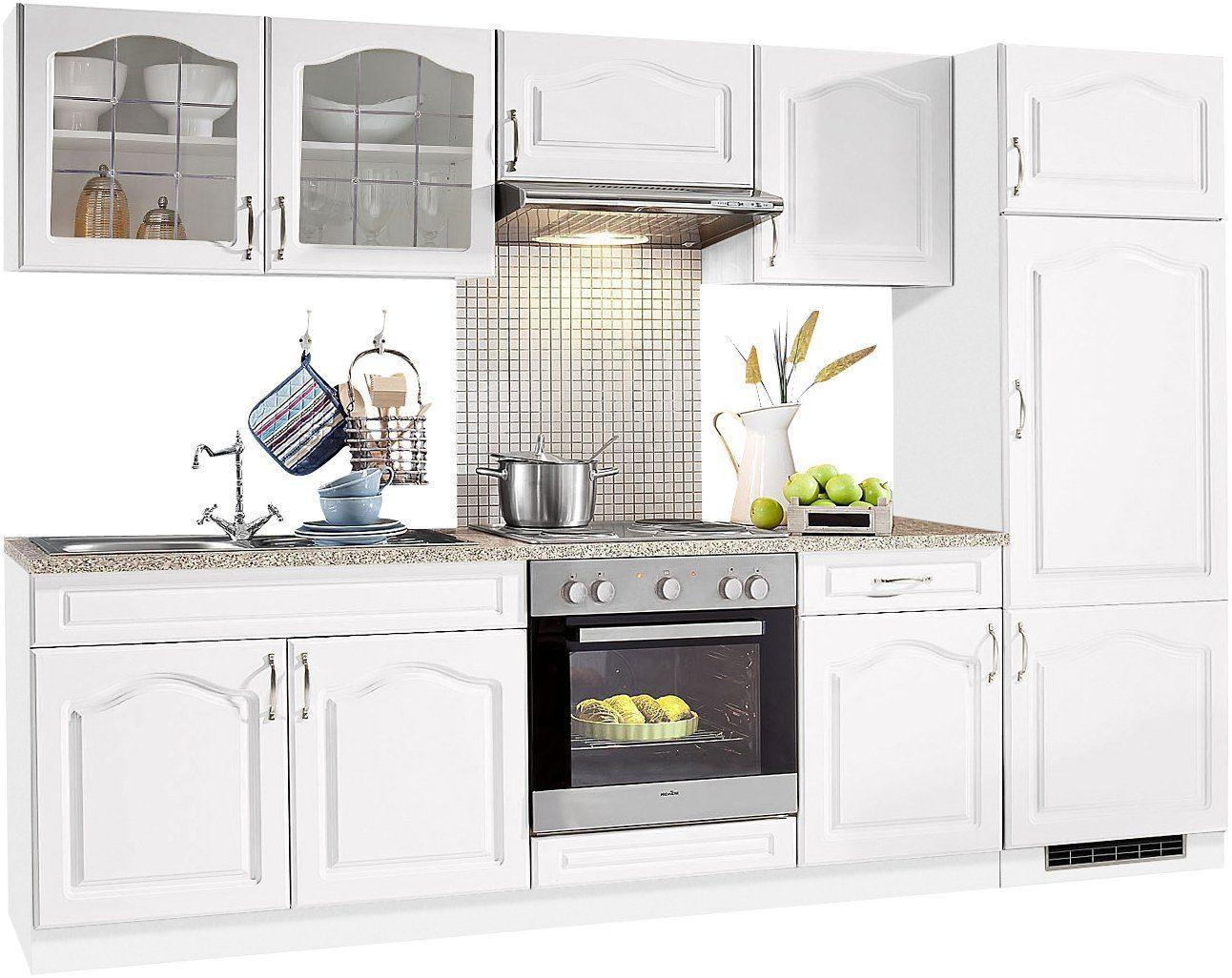 wiho Küchen Küchenzeile »Linz«, ohne E Geräte, Breite 270 ...