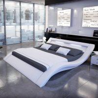 Innocent Polsterbett aus Kunstleder mit LED-Beleuchtung ...