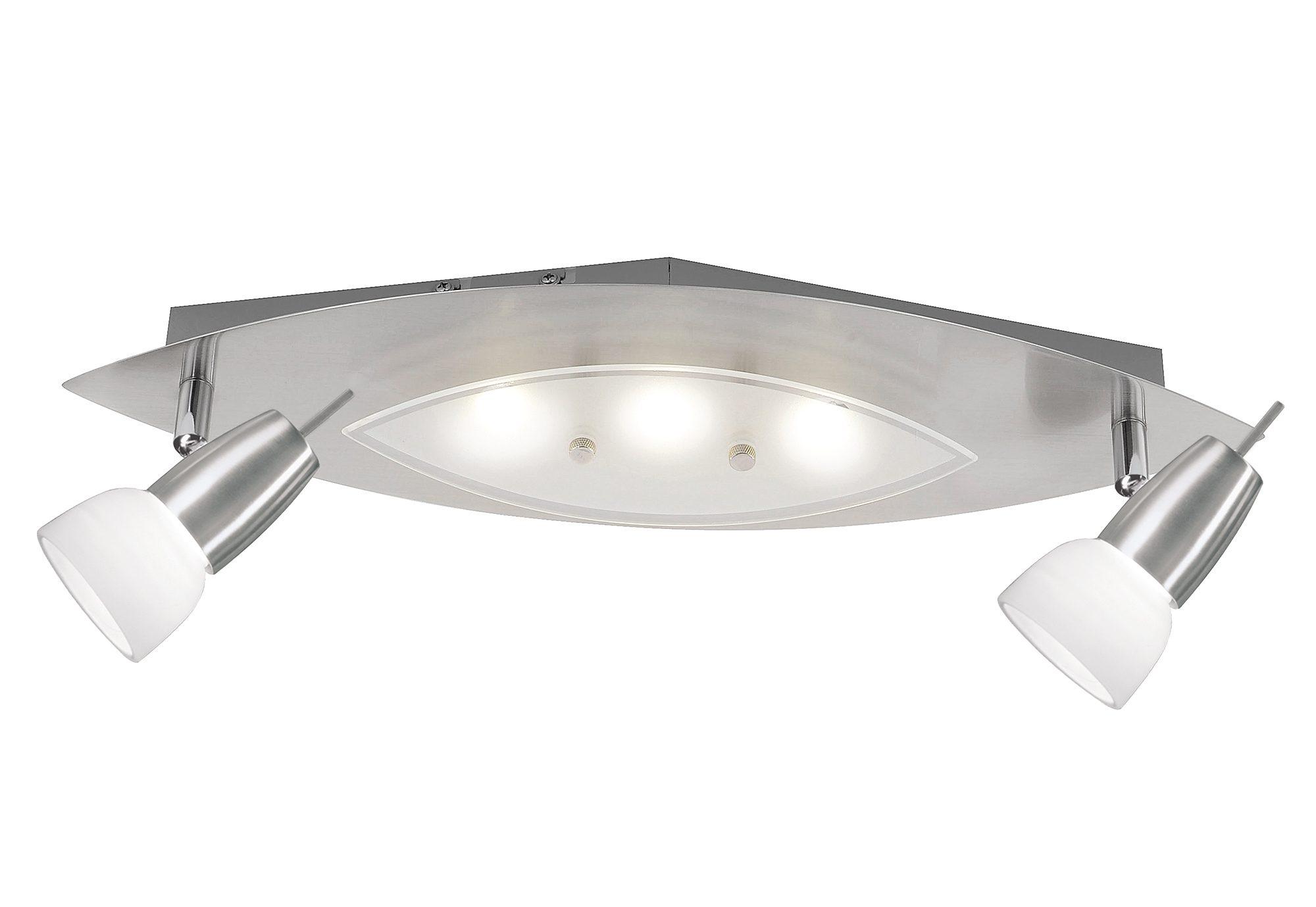 Paul Neuhaus LED Deckenleuchte, Länge ca. 47 cm, Breite ca ...