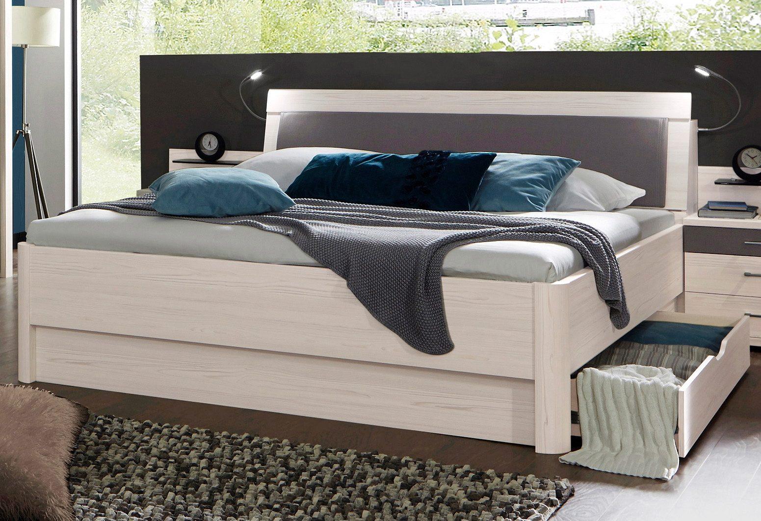 WIEMANN Bett Lissabon in 2 Breiten wahlweise mit Bettkasten online kaufen  OTTO