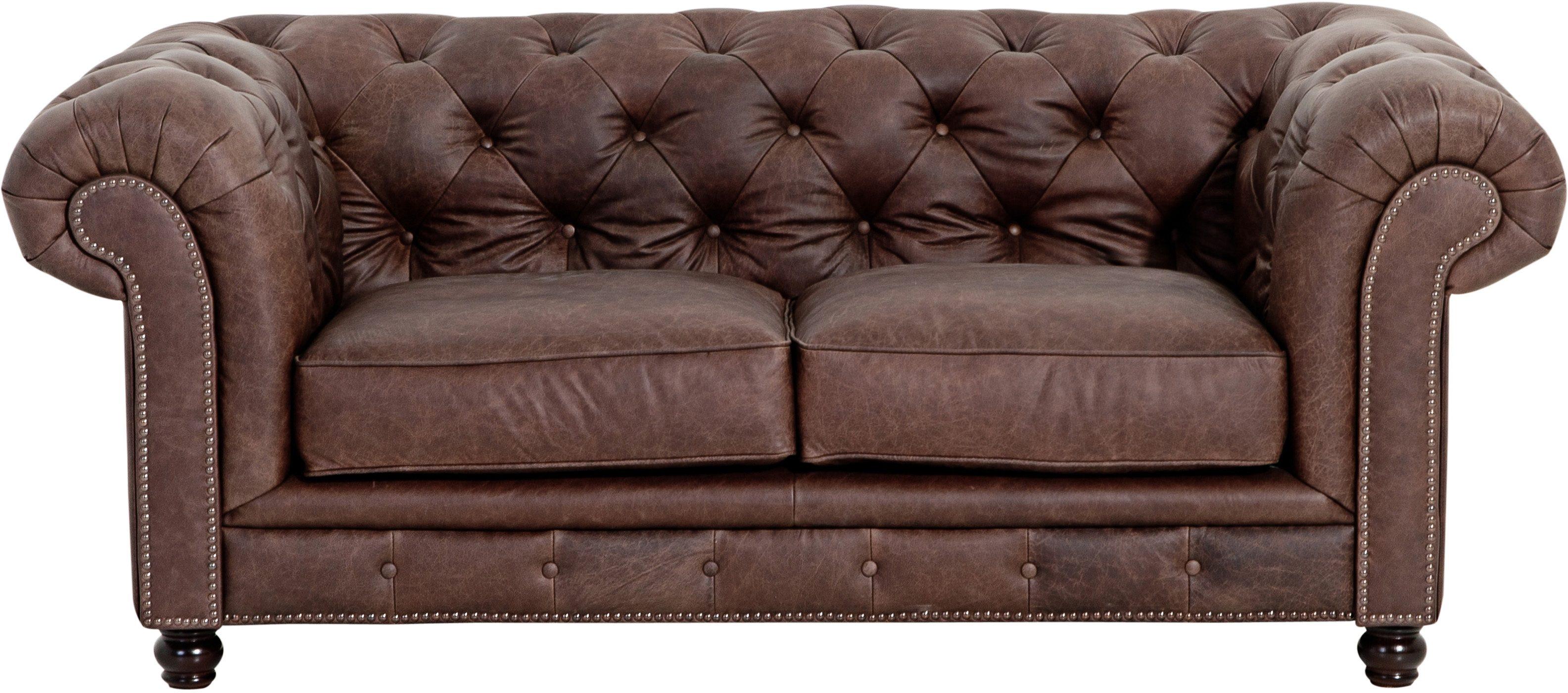 Sofa 2 Sitzer Retro Elegant Sitzer Vintage Sofa Westhampton