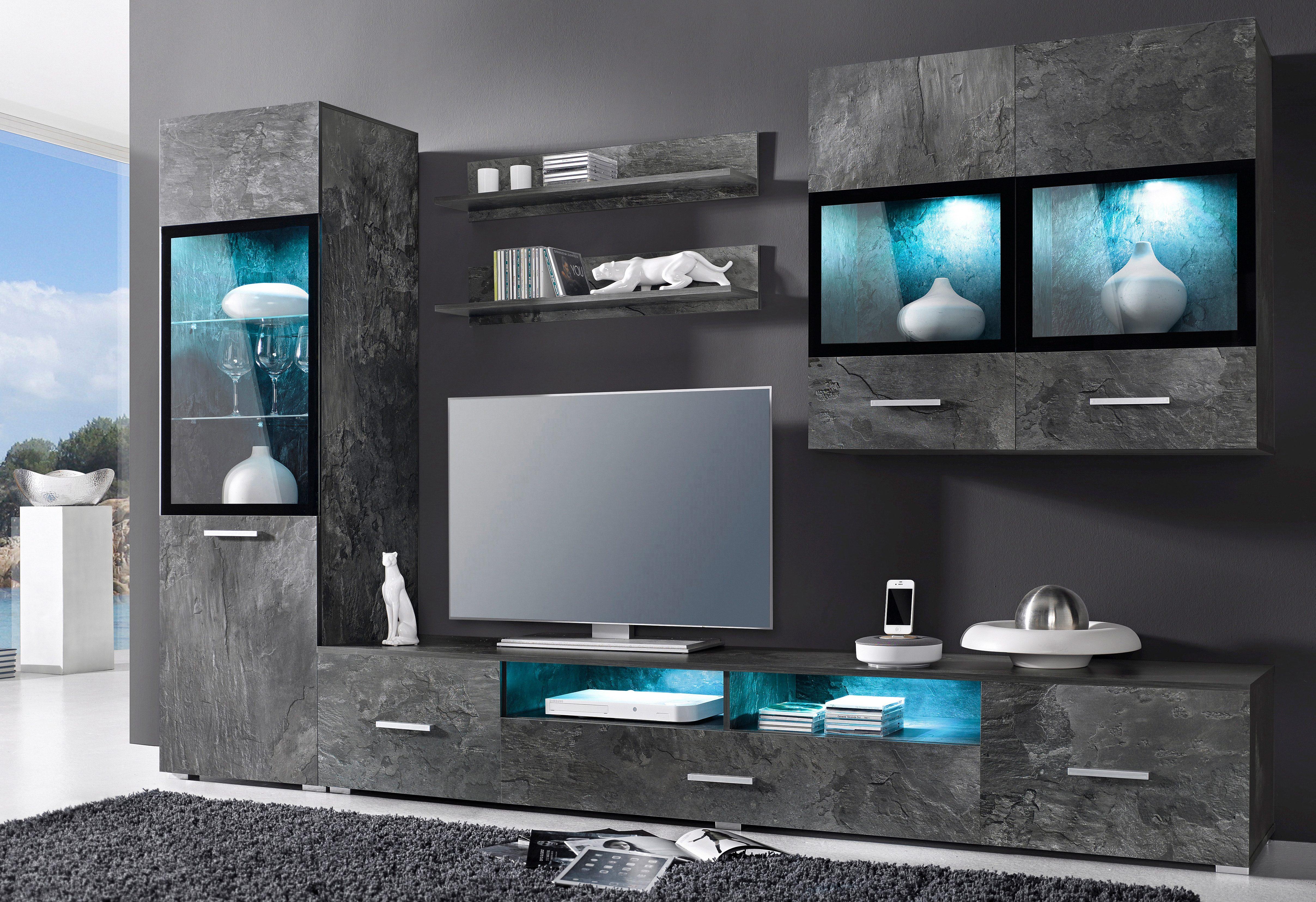 Wohnwand 5tlg online kaufen  OTTO