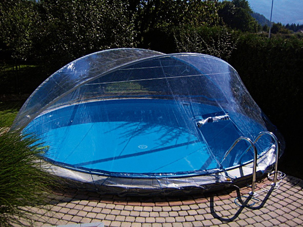 Clear pool berdachung Cabrio Dome Schutz vor