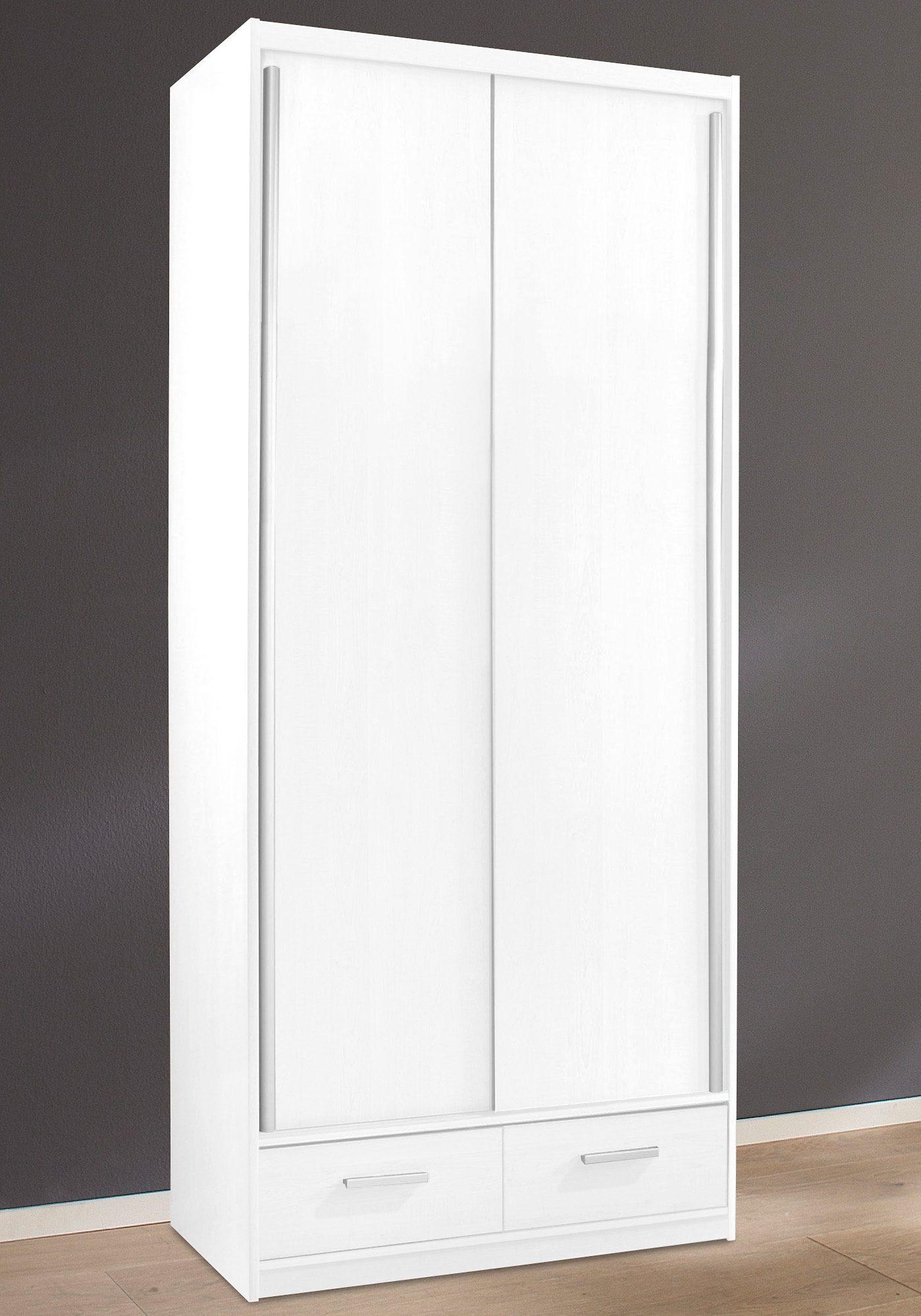 Küche Schiebetürenschrank  Moderne Büro Garderobe Gropada In Weiß