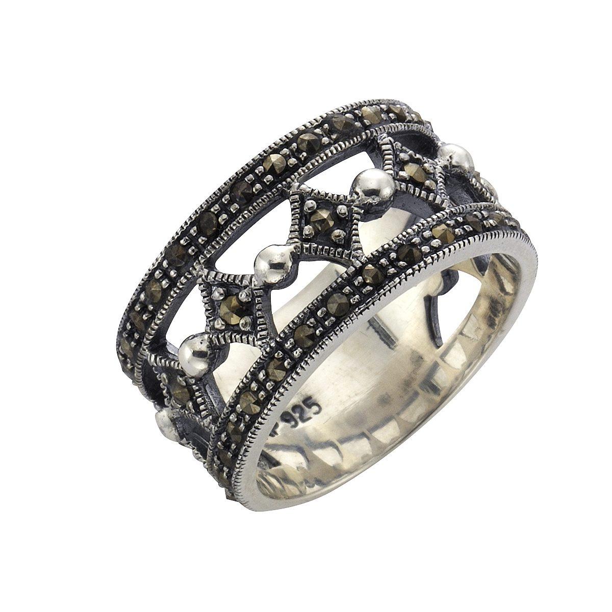 Zeeme Ring 925 Sterling Silber Markasit kaufen OTTO