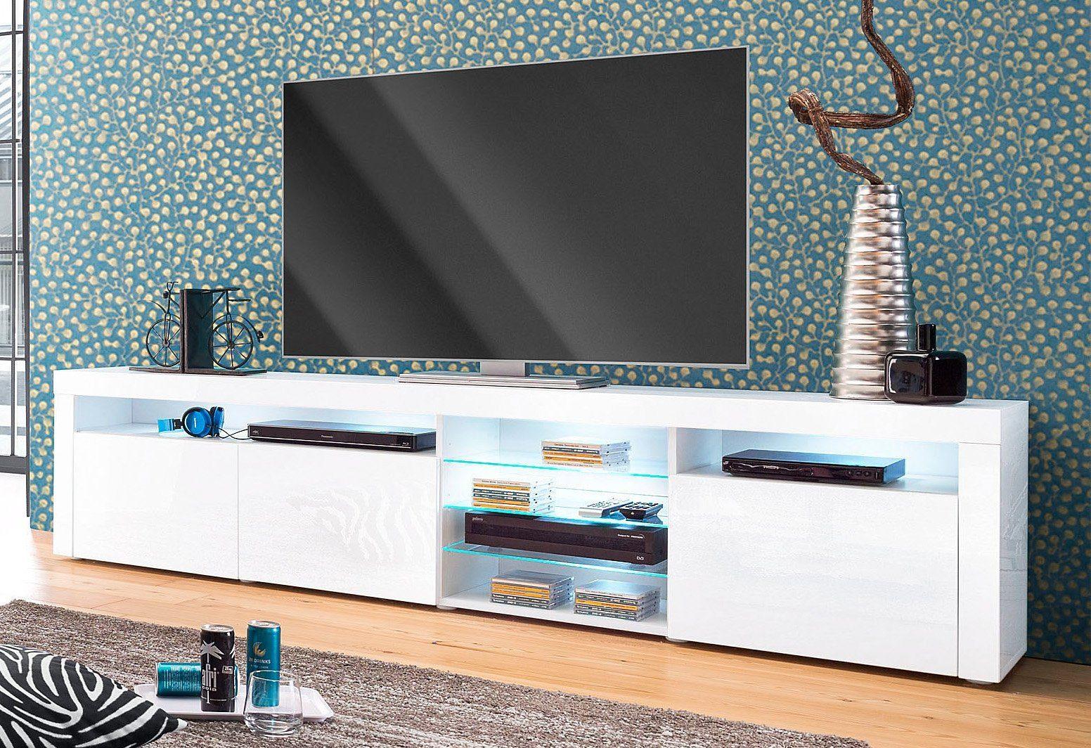 Borchardt Mbel Lowboard Breite 200 cm Dekorative Rahmenoptik online kaufen  OTTO