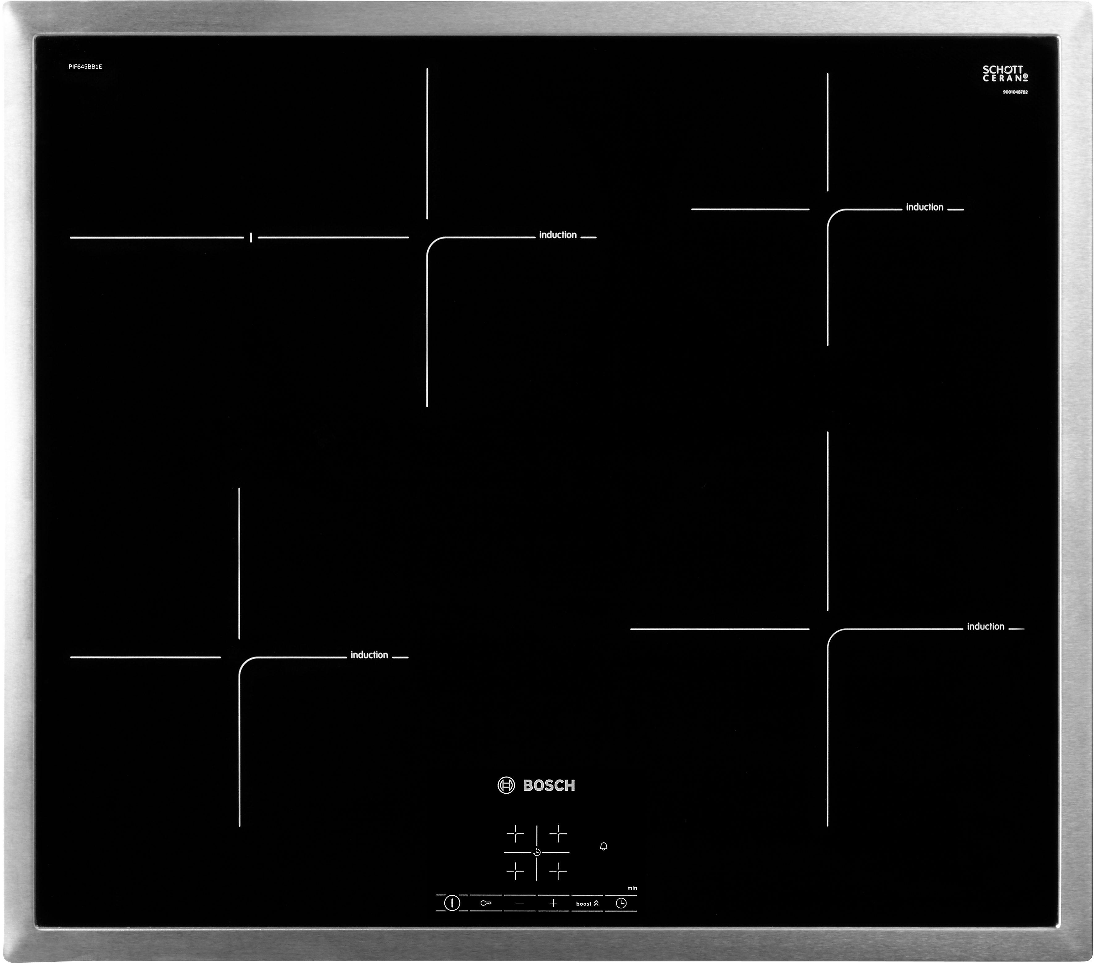 BOSCH Induktions-Kochfeld PIF645BB1E, mit Timer - BOSCH