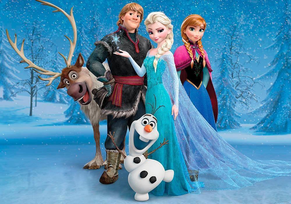Home affaire Fototapete Disney Frozen 254184 cm online