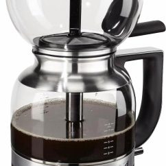 Kitchen Aid Artisan Compact Kitchens Nz Kitchenaid® Siphon-kaffeebrüher »artisan 5kcm0812«, Onyx ...