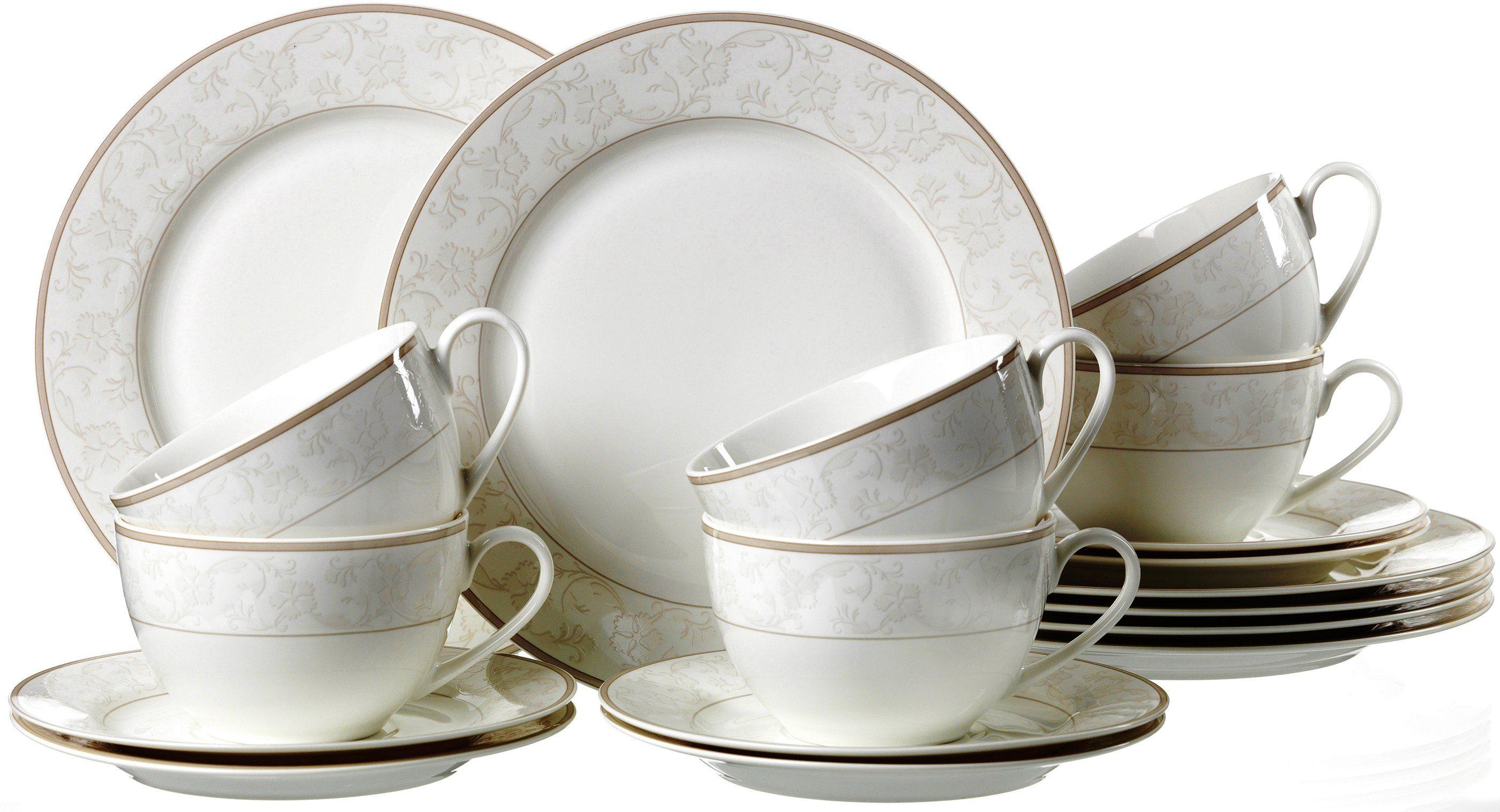 Via by RB Kaffeeservice Porzellan 18 Teile ISABELLA online kaufen  OTTO