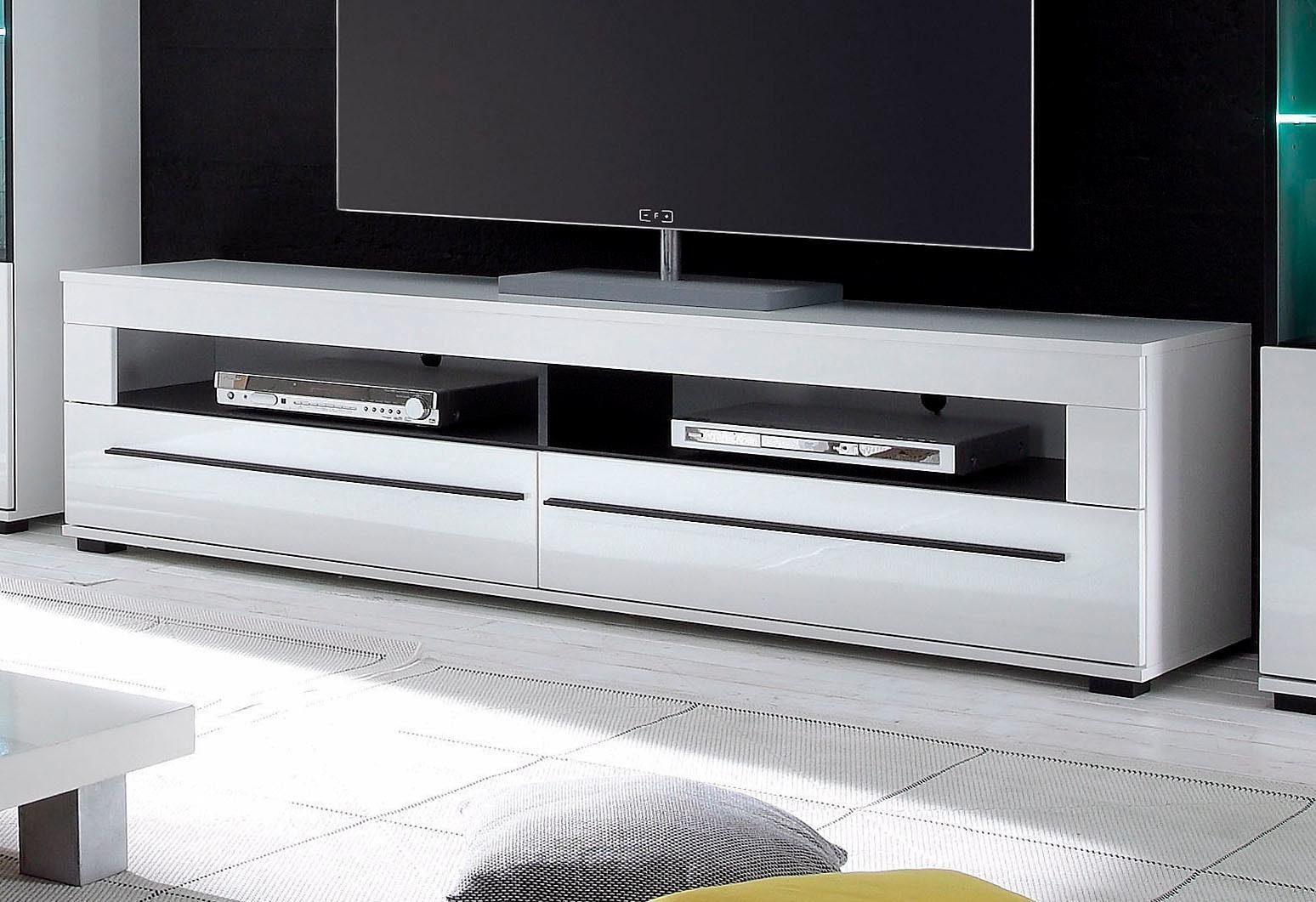 Lowboard, Breite 180 cm, Hochglanz Fronten online kaufen ...