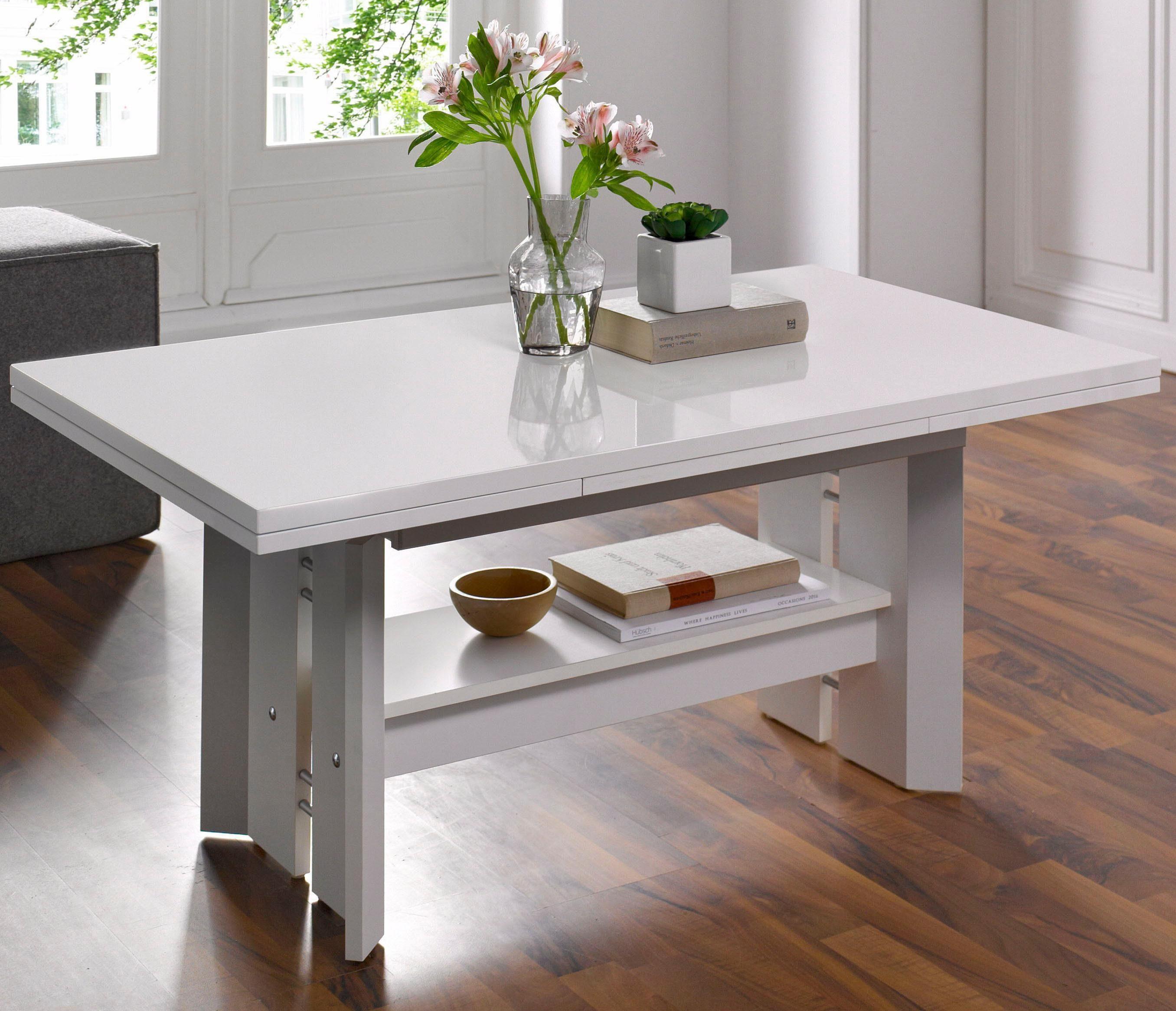 Ikea Couchtisch Ausziehbar Wohnzimmer Eiche Rustikal