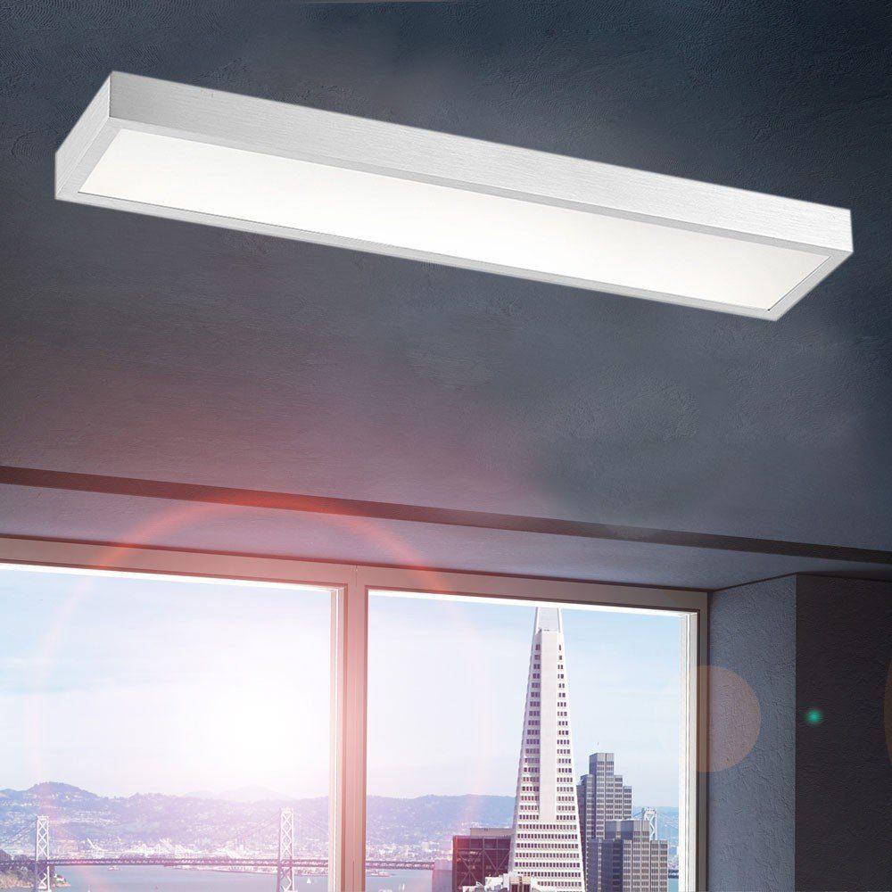 LichtTrend Deckenleuchte Minimalistische rechteckige LED