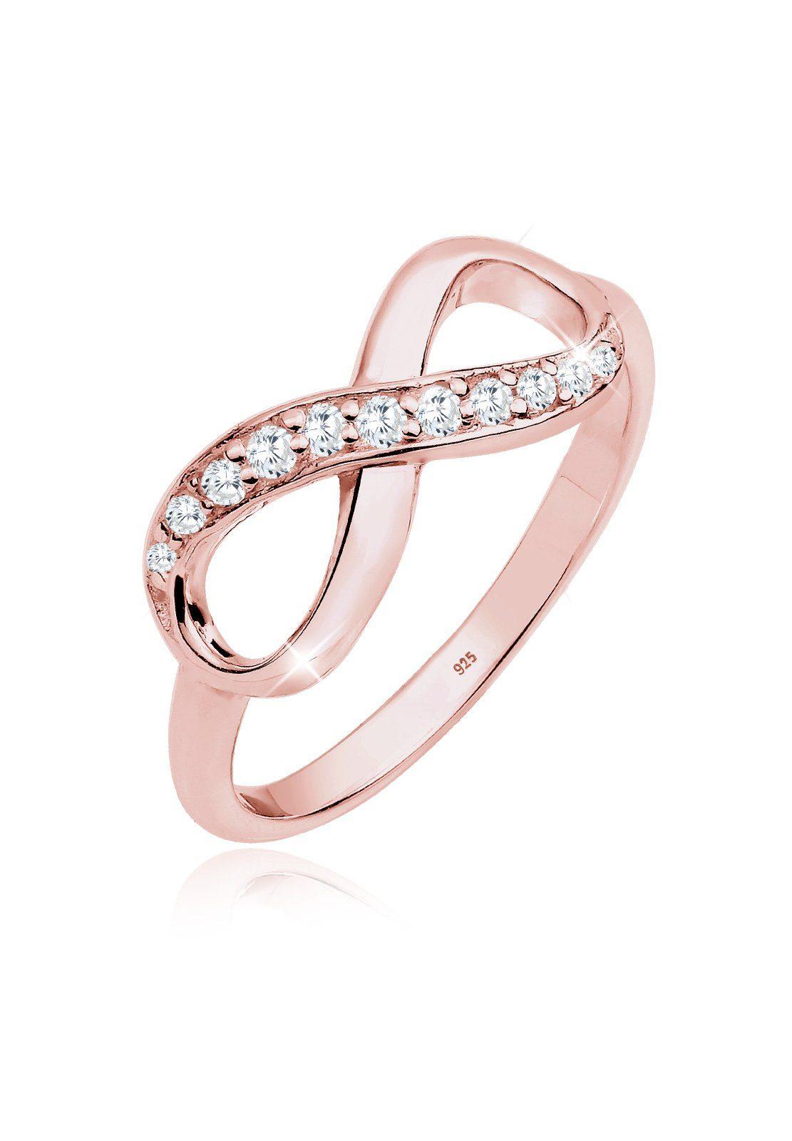 Ring Unendlichkeitszeichen Silber
