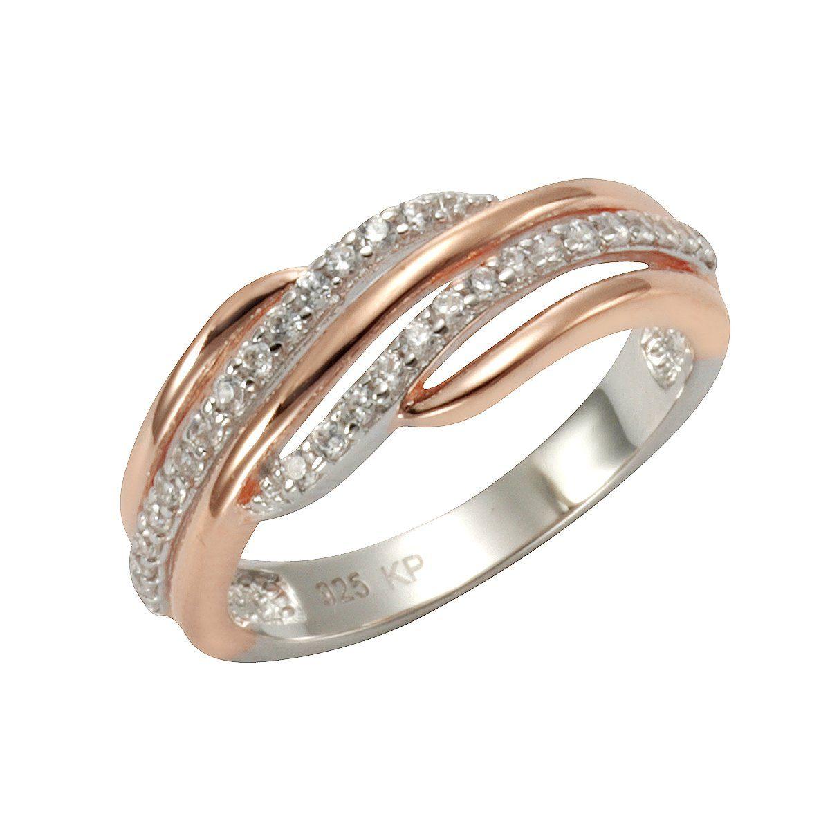 Zeeme Ring 925 Sterling Silber vergoldet OTTO