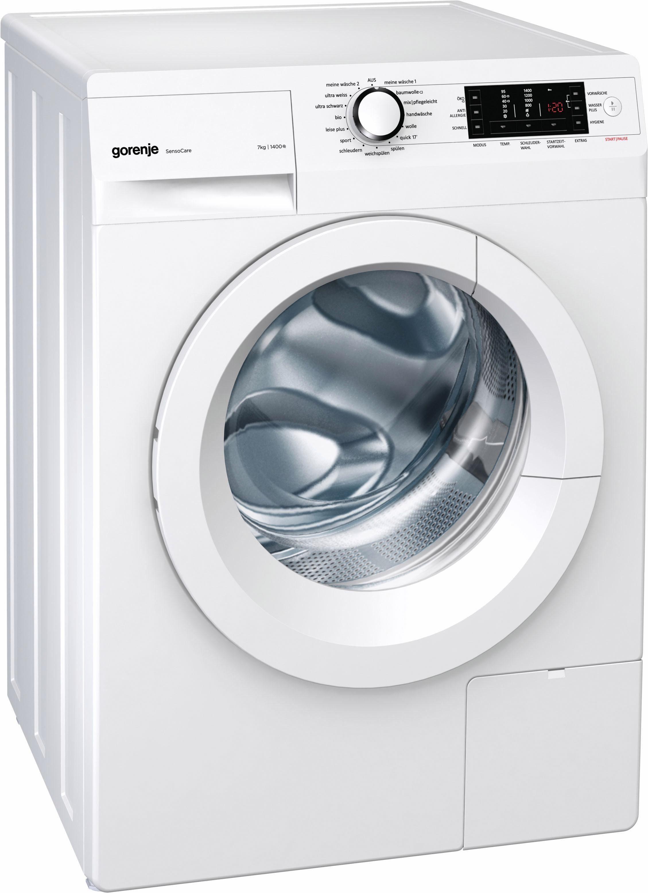 Gorenje Waschmaschine Was749, 7 Kg, 1400 Umin Otto