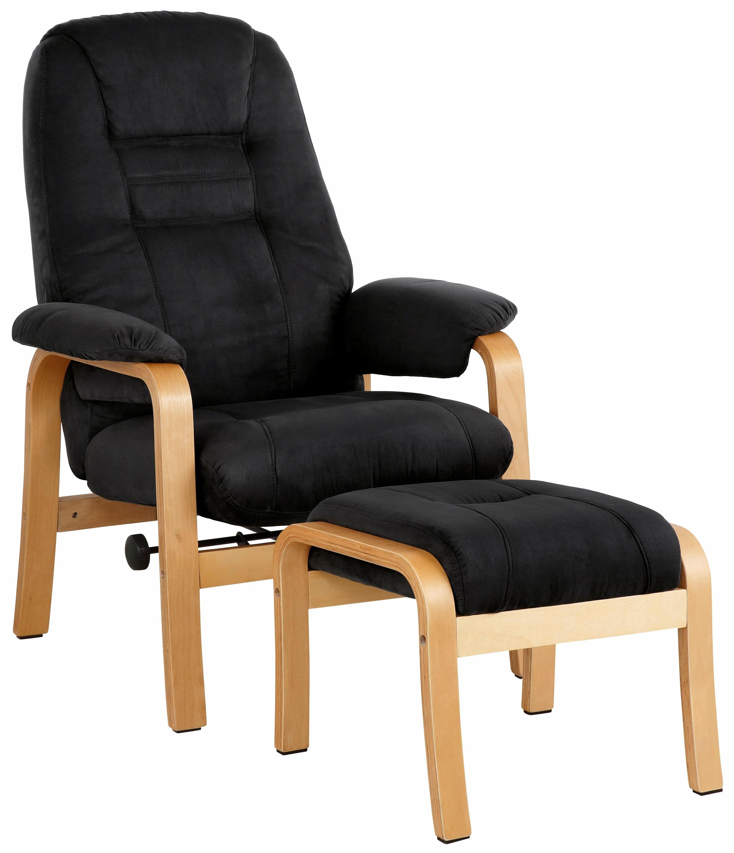 Home affaire Relaxsessel Avignon kippbar mit Hocker Holzgestell online kaufen  OTTO