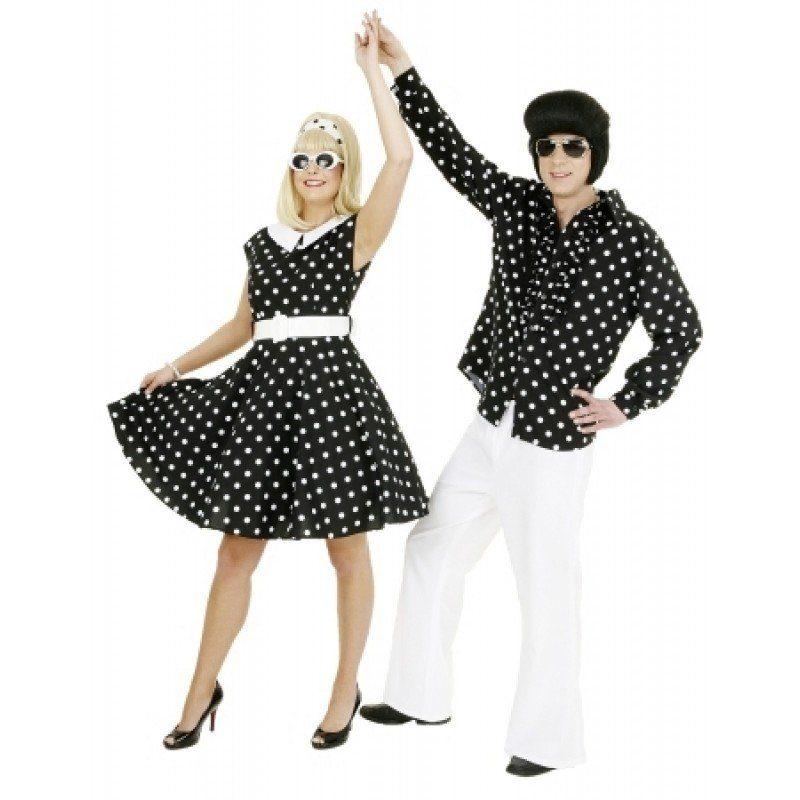 50er Jahre Kleid Damenkostüm in schwarz kaufen OTTO