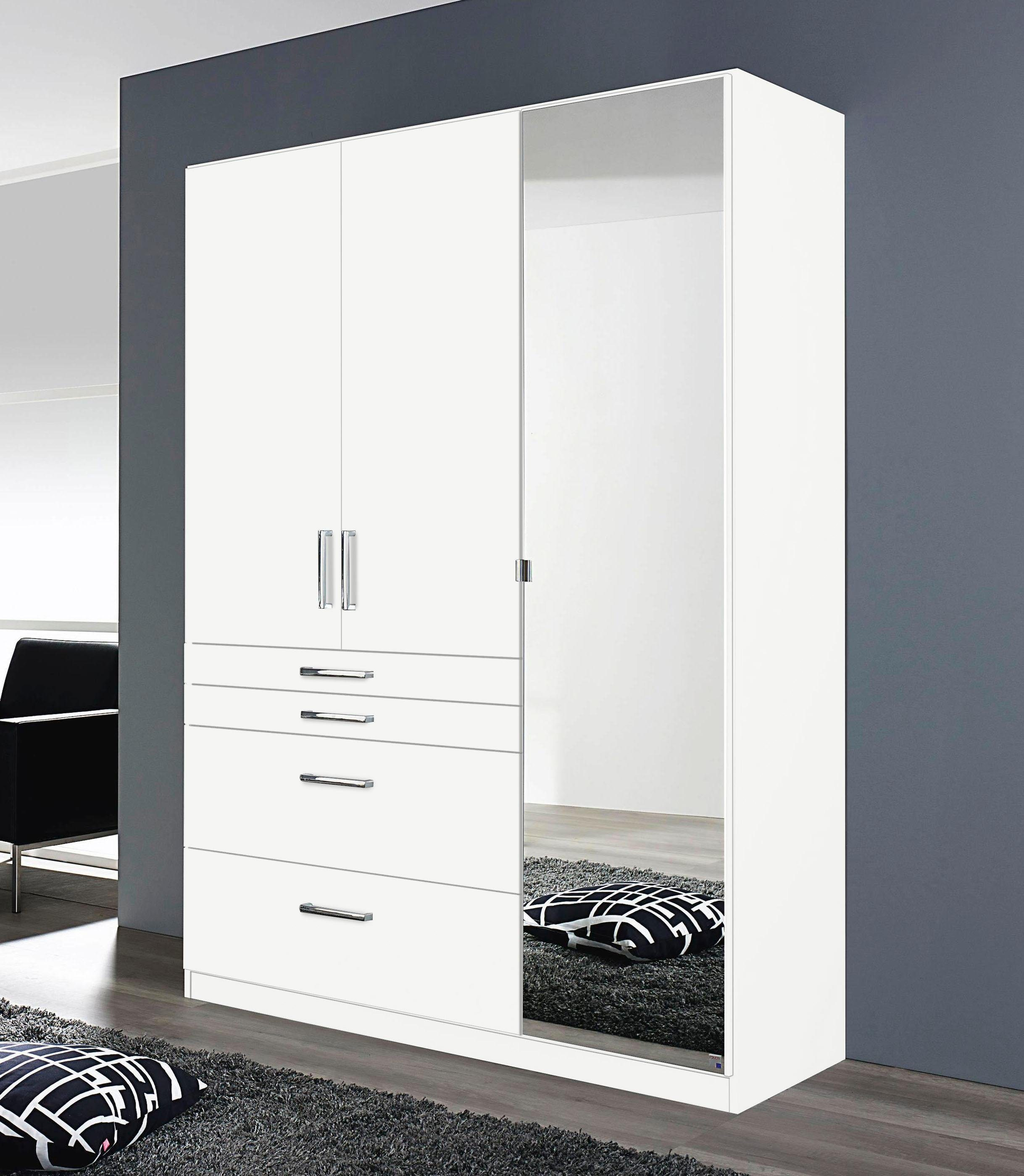 Kleiderschrank Mit Schubladen Und Spiegel