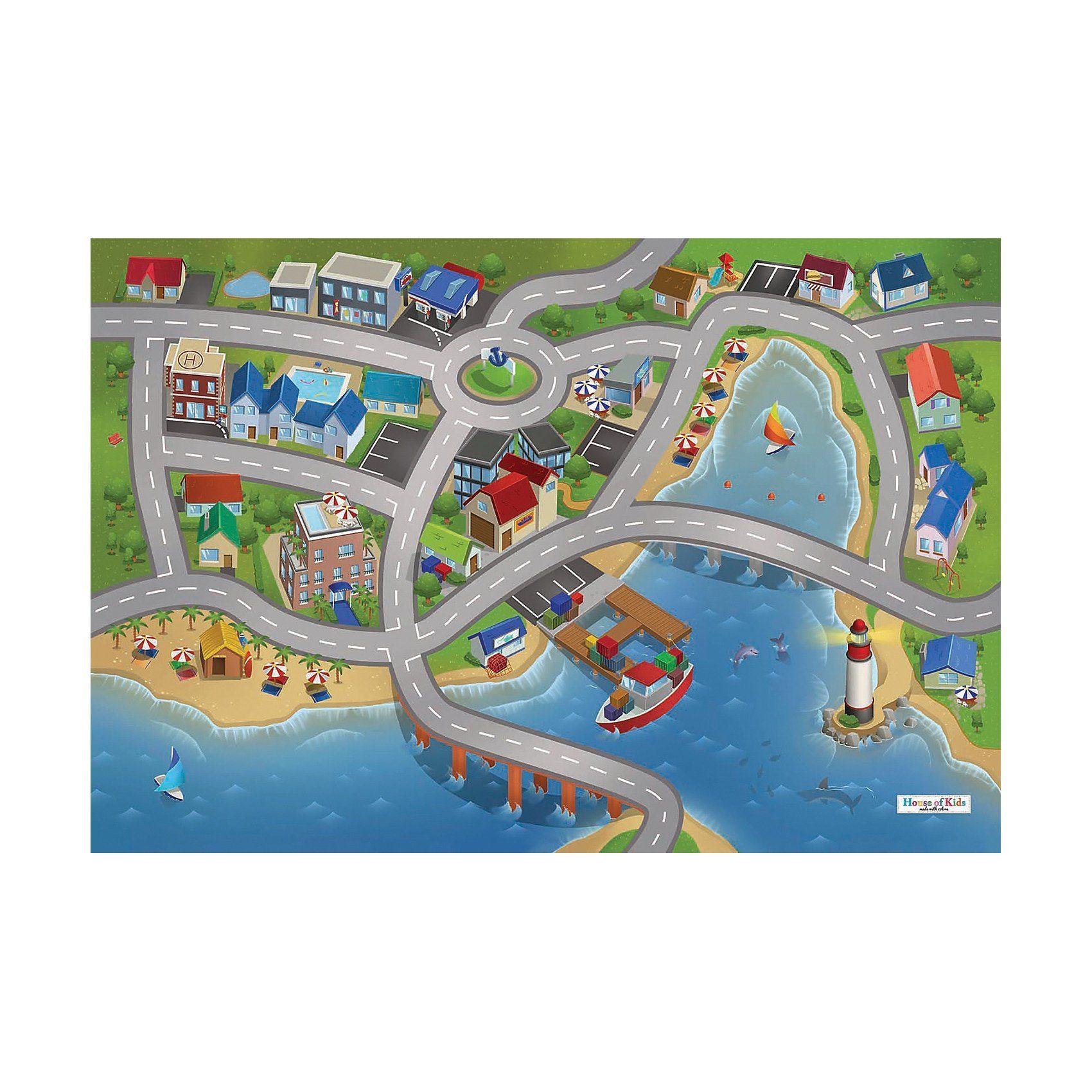 Spielteppich Stadthafen 80x120 cm online kaufen  OTTO