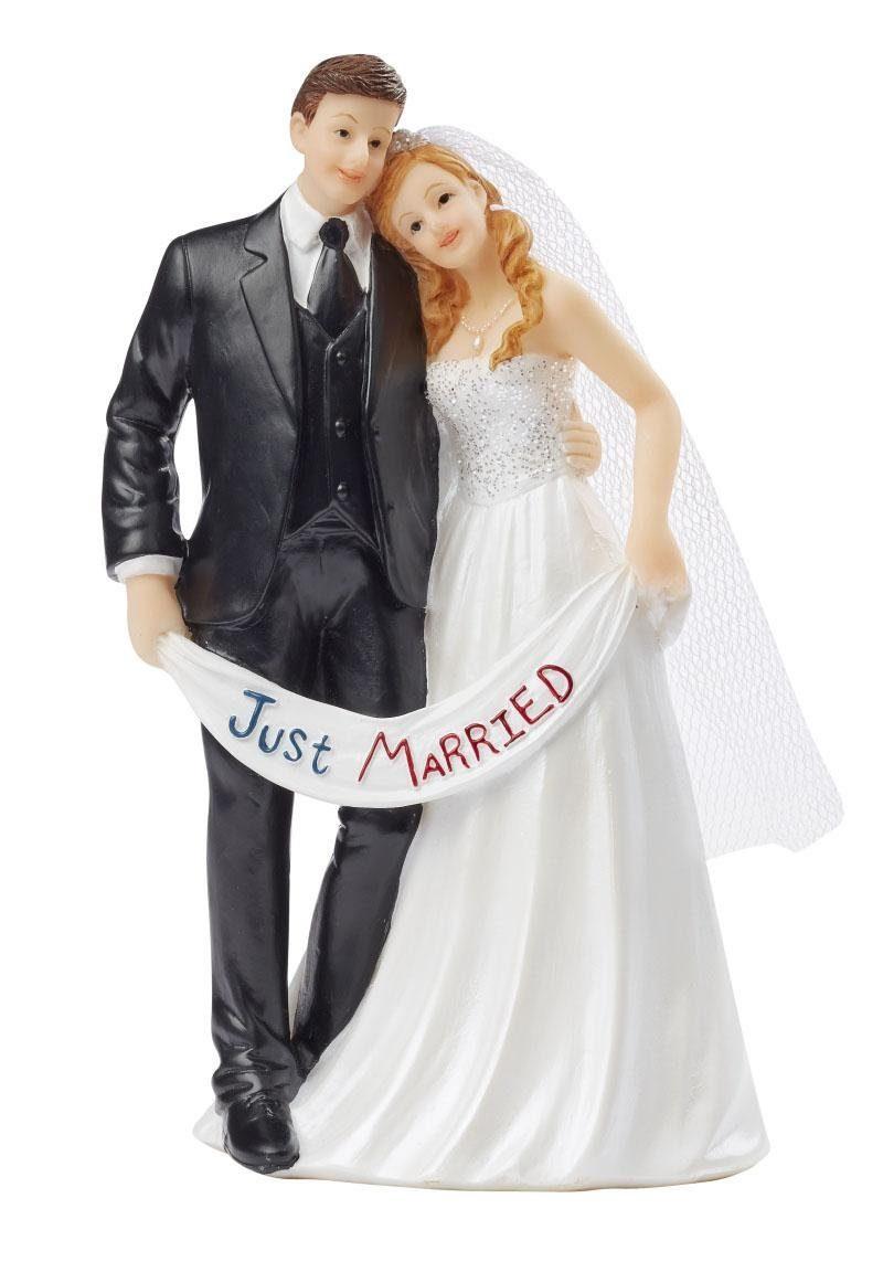 Tortenfigur Hochzeitspaar Just Married kaufen  OTTO