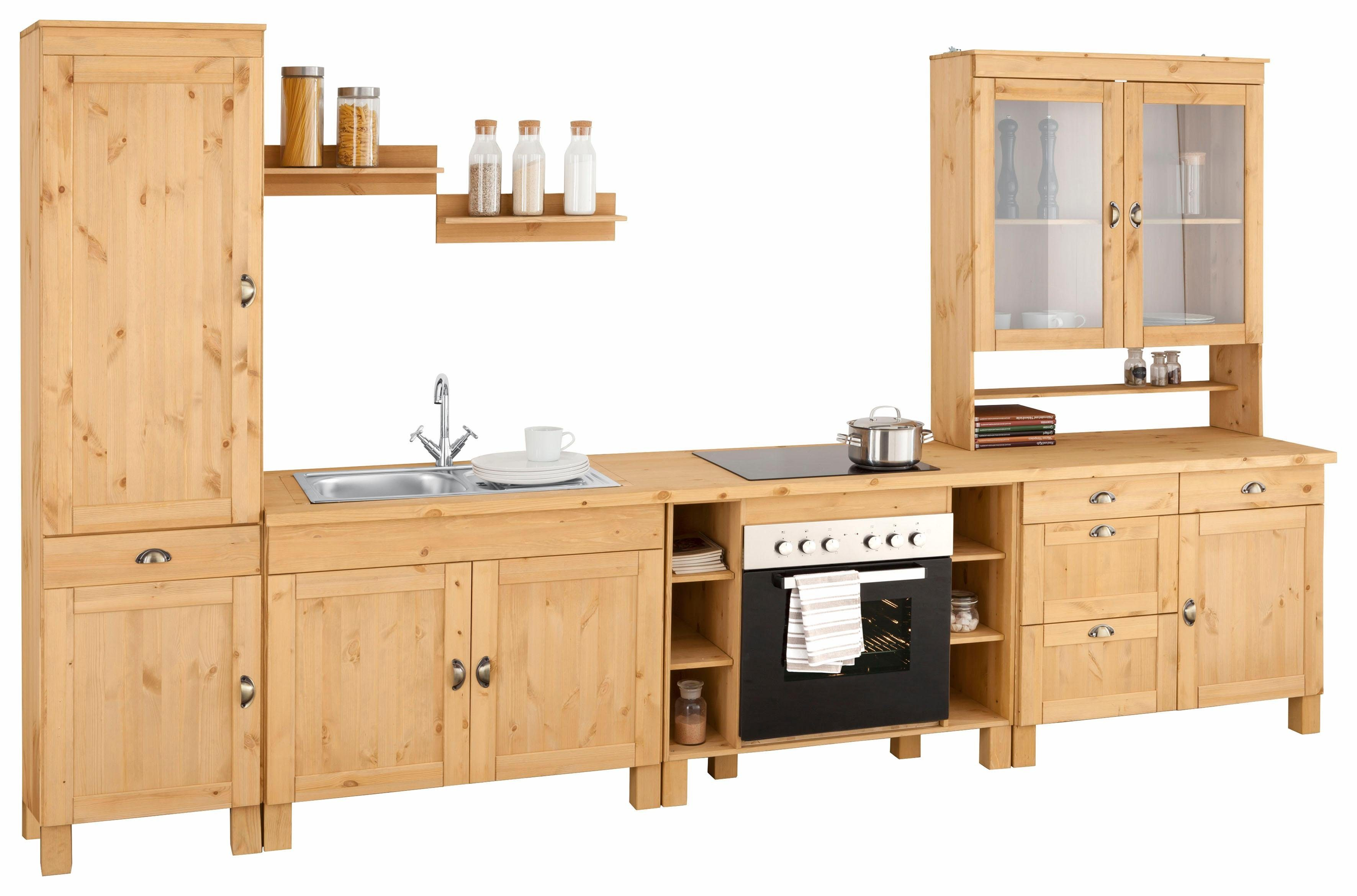 Home affaire Küchenzeile »Oslo«, ohne E Geräte, Breite 350 ...