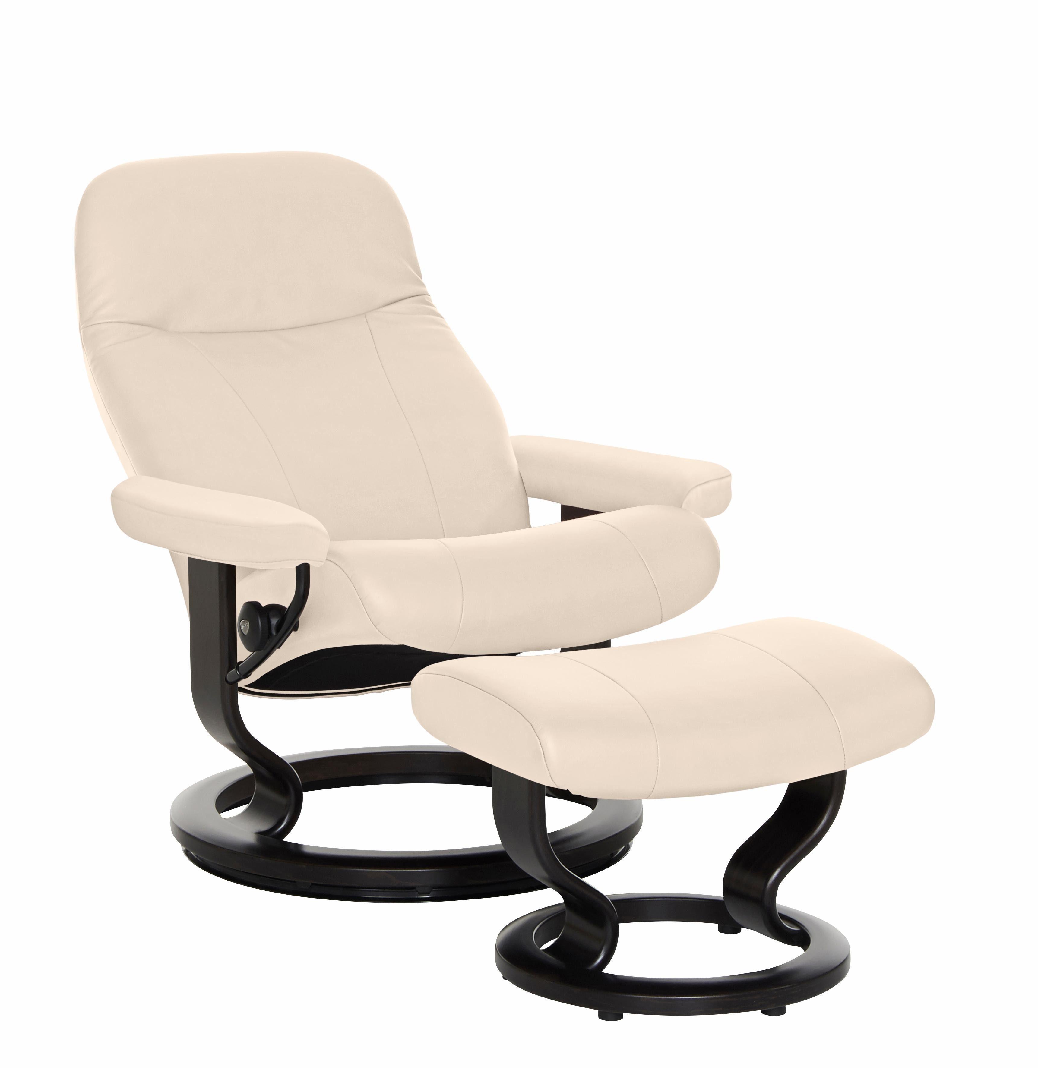 Stressless Set Relaxsessel mit Hocker Garda mit Classic Base Gre M mit Schlaffunktion