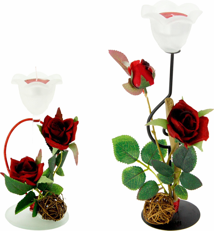 Teelichthalter Set Rose 2er Set online kaufen  OTTO
