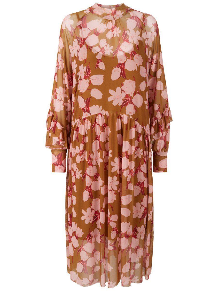 YAS BlumenMesh Kleid online kaufen  OTTO