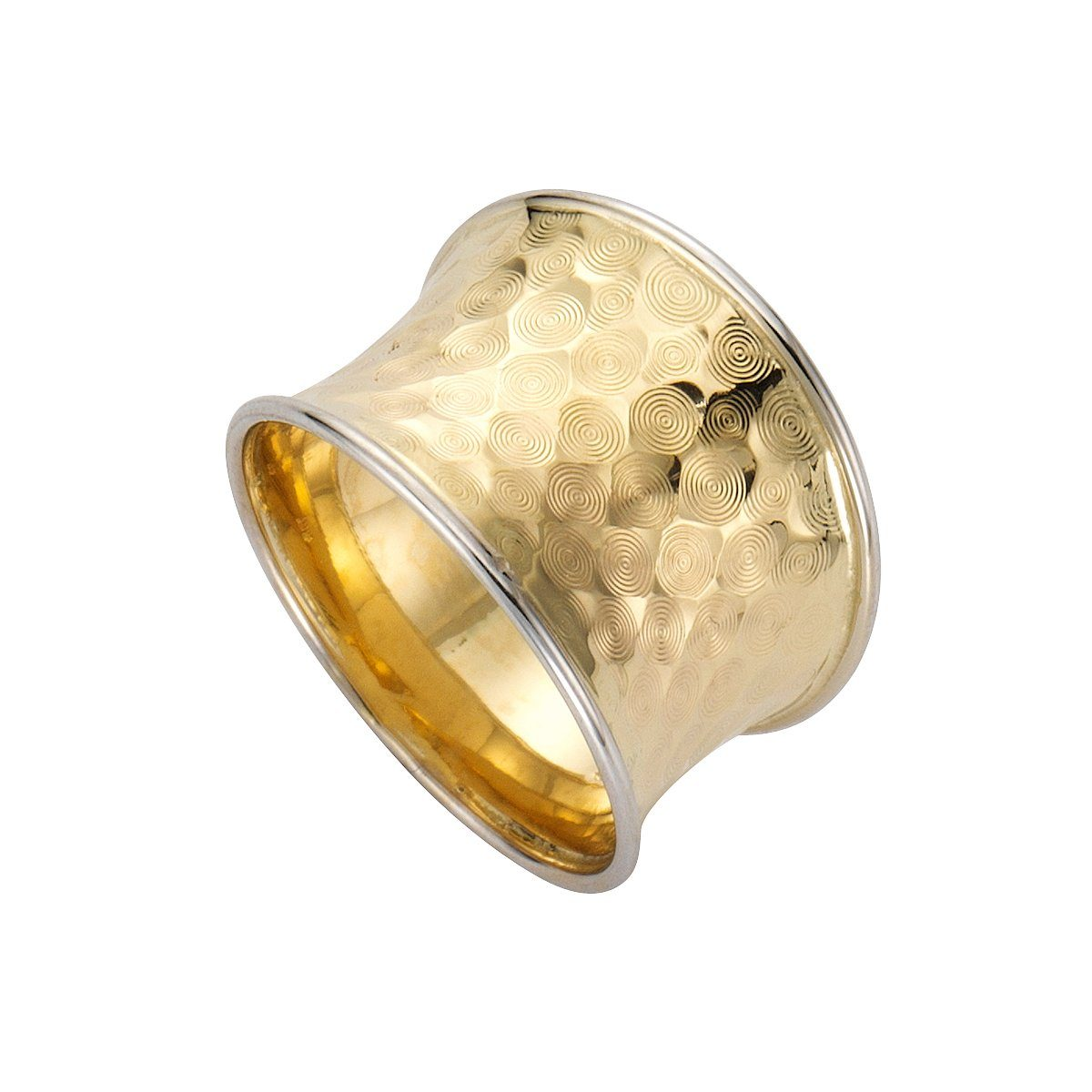 Fascination by Ellen K Ring 333 Gold bicolor