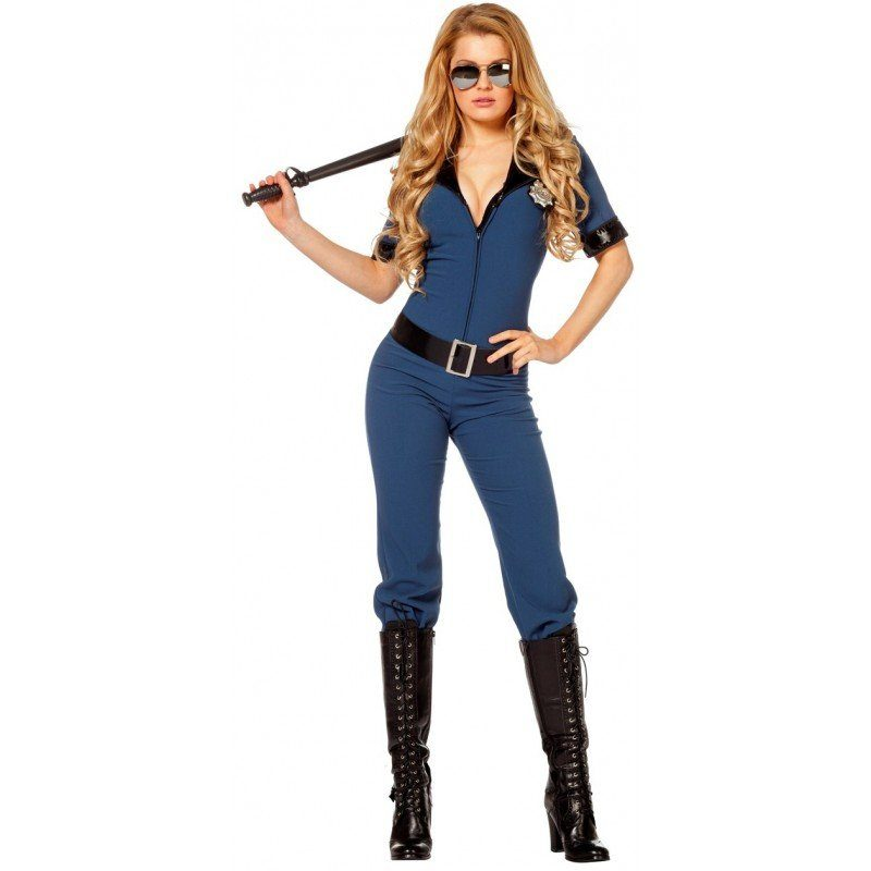 Outfit Party Frau Sexy Cop Polizistin Catsuit Online Kaufen | Otto