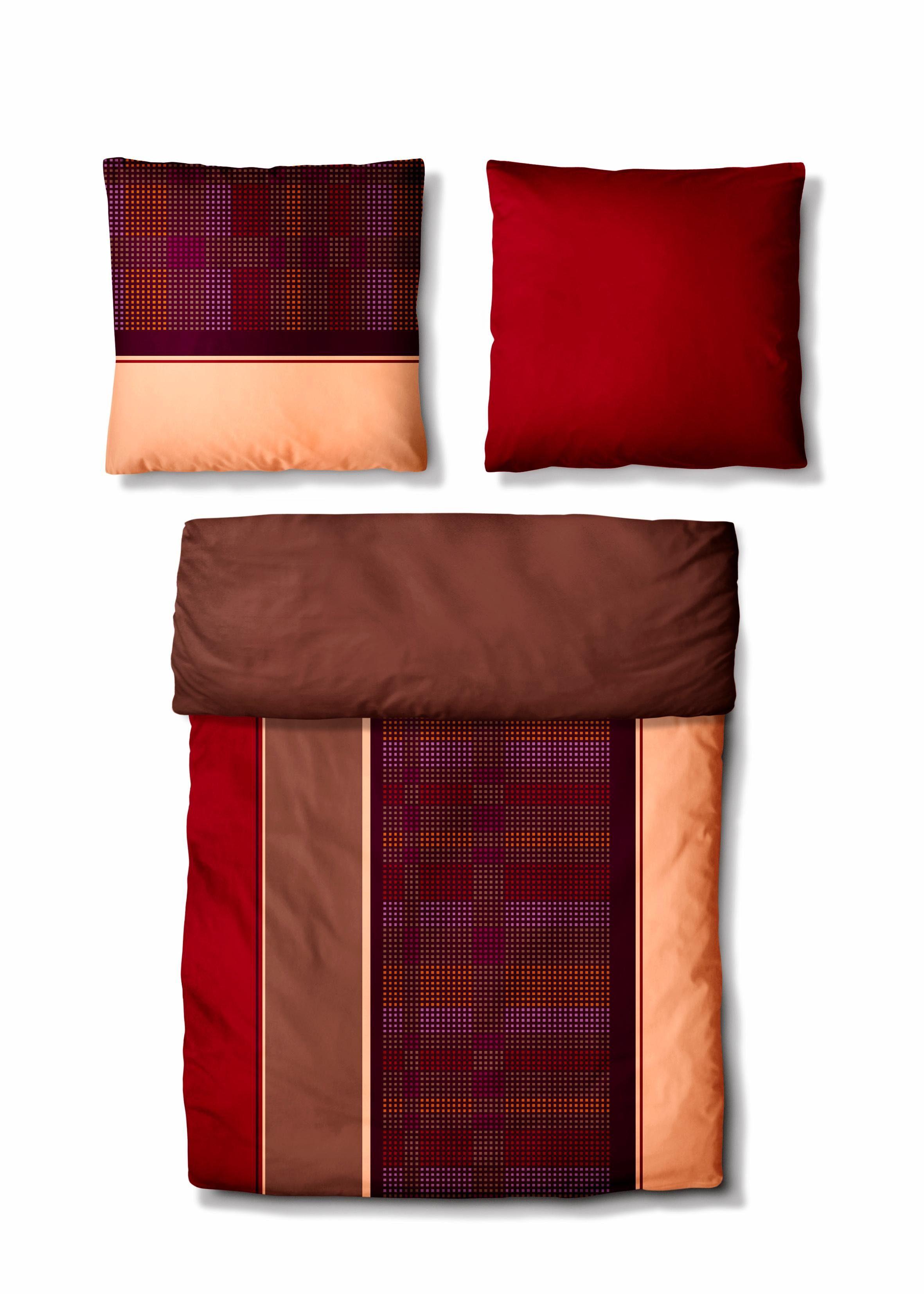 Biber Bettwasche Unifarben