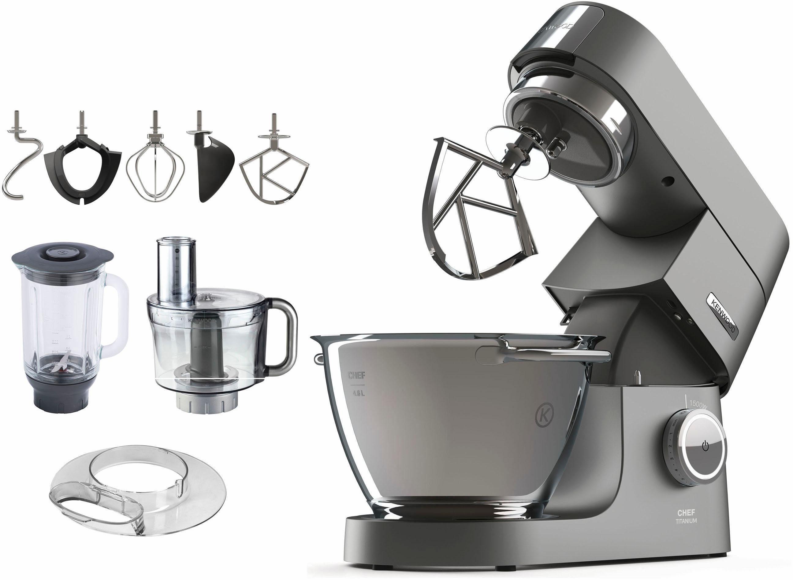 KENWOOD Kchenmaschine Chef Titanium KVC7411S 1500 W 46