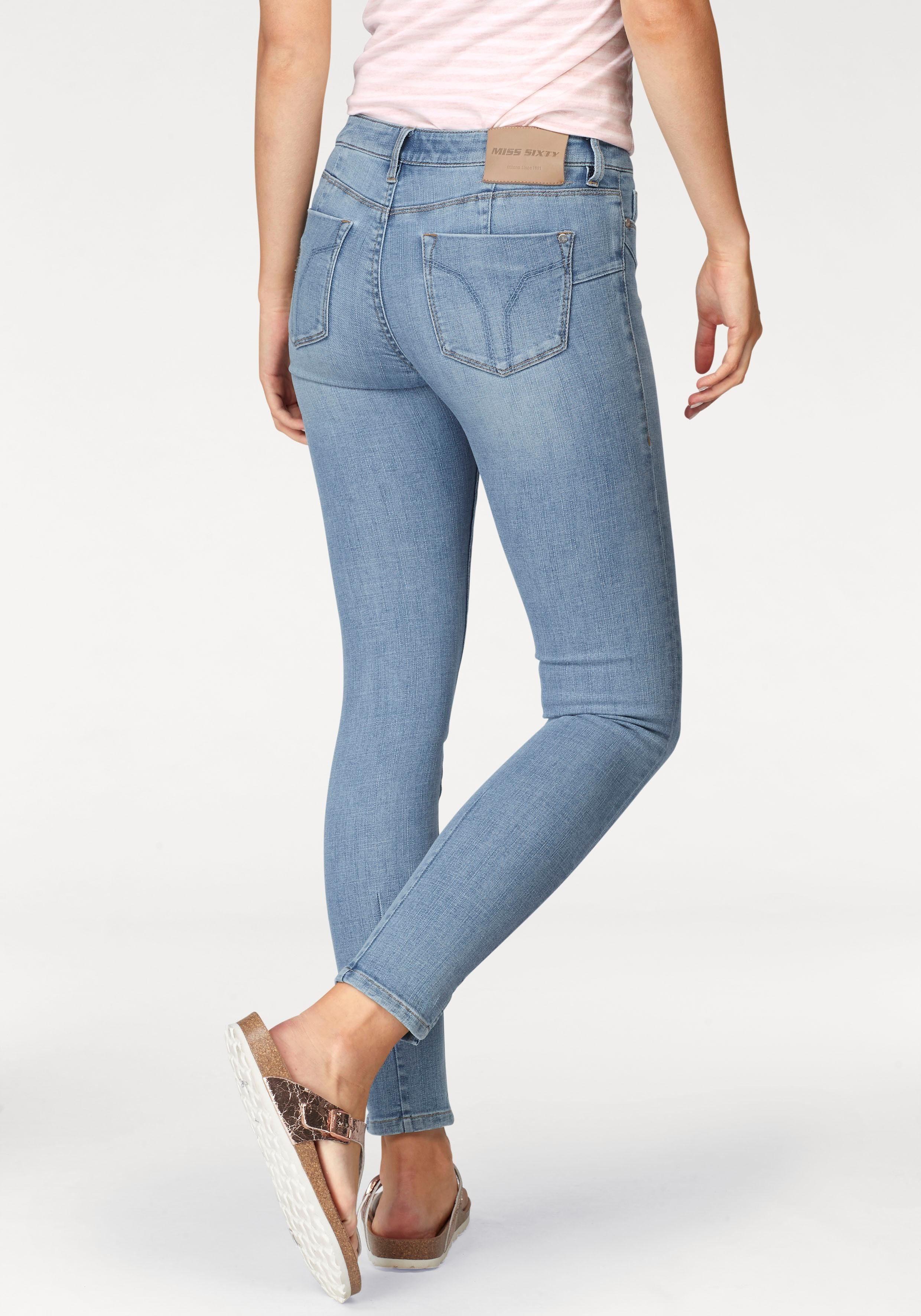 MISS SIXTY SkinnyfitJeans BETTIE mit trendy Schlitz online kaufen  OTTO