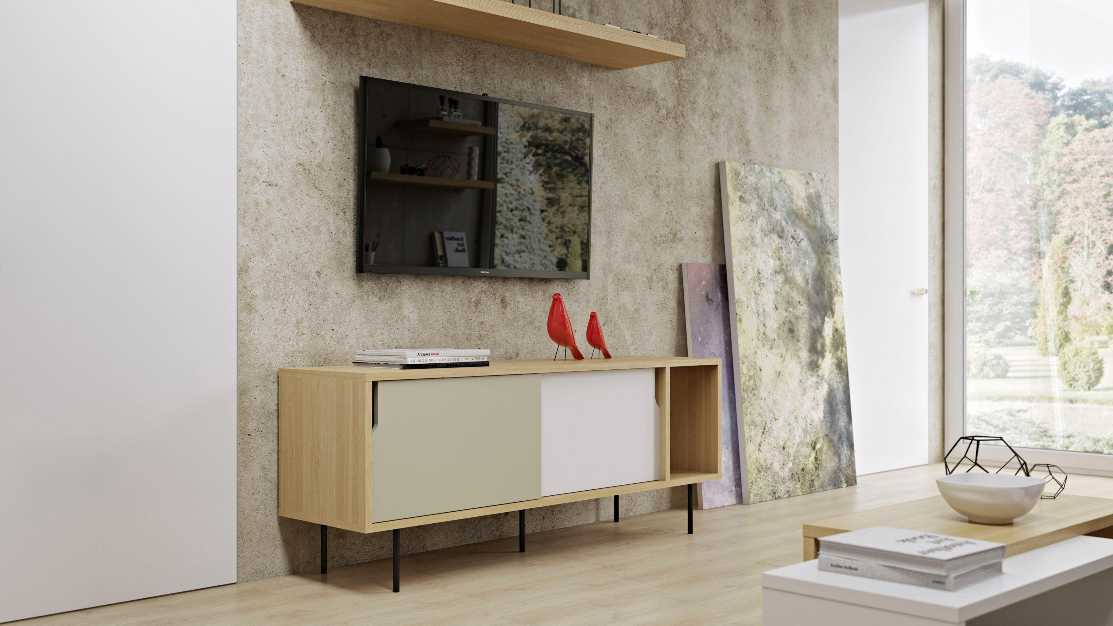 Sideboard Metall Fusse Vito City