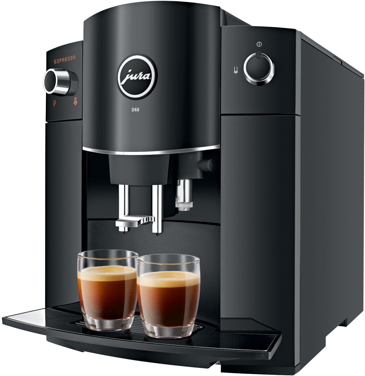 JURA Kaffeevollautomat 15193 D60 Piano Black  OTTO