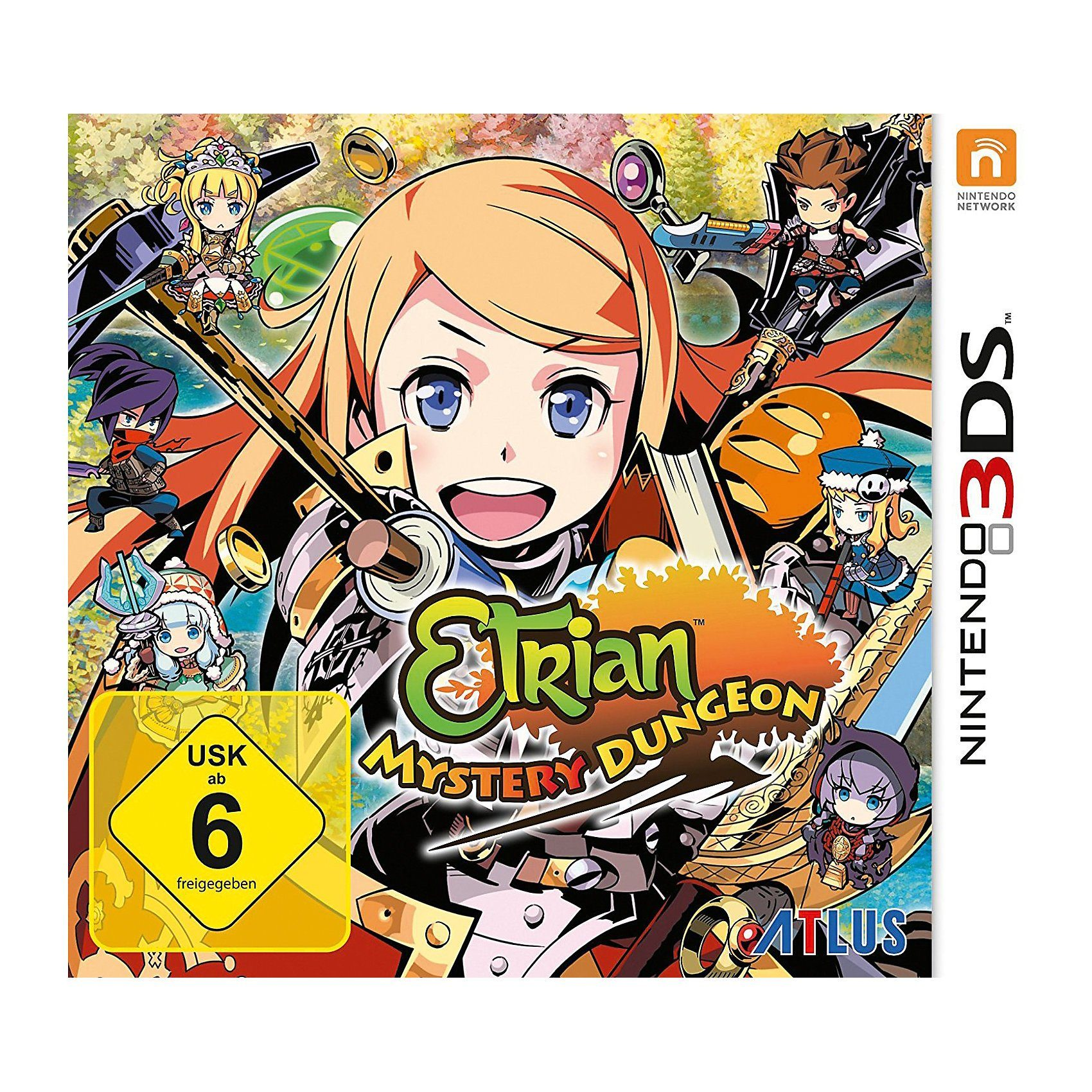 3DS Etrian Mystery Dungeon online kaufen  OTTO