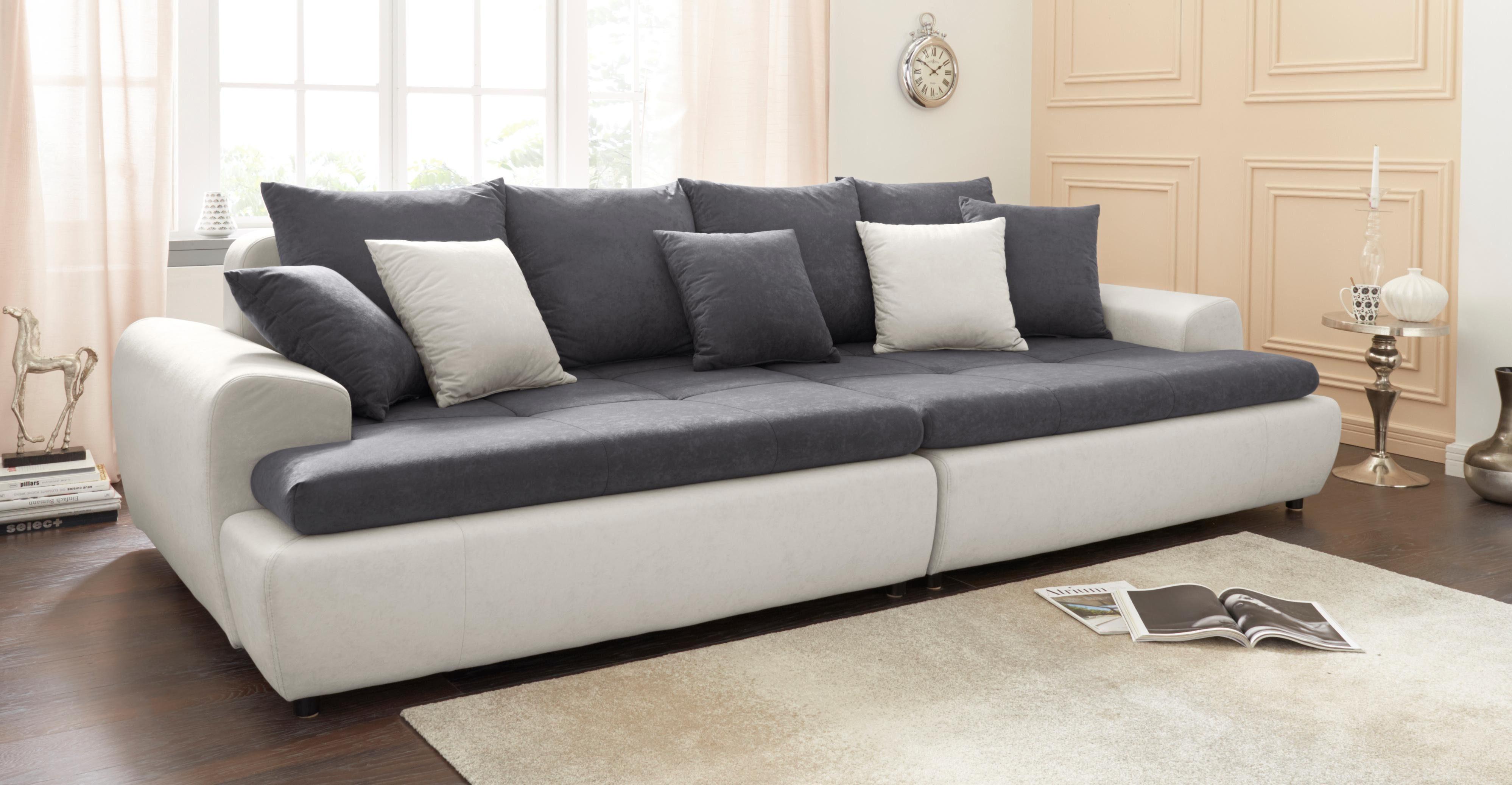 mega sofa children s flip canada collection ab inklusive loser zier und ruckenkissen
