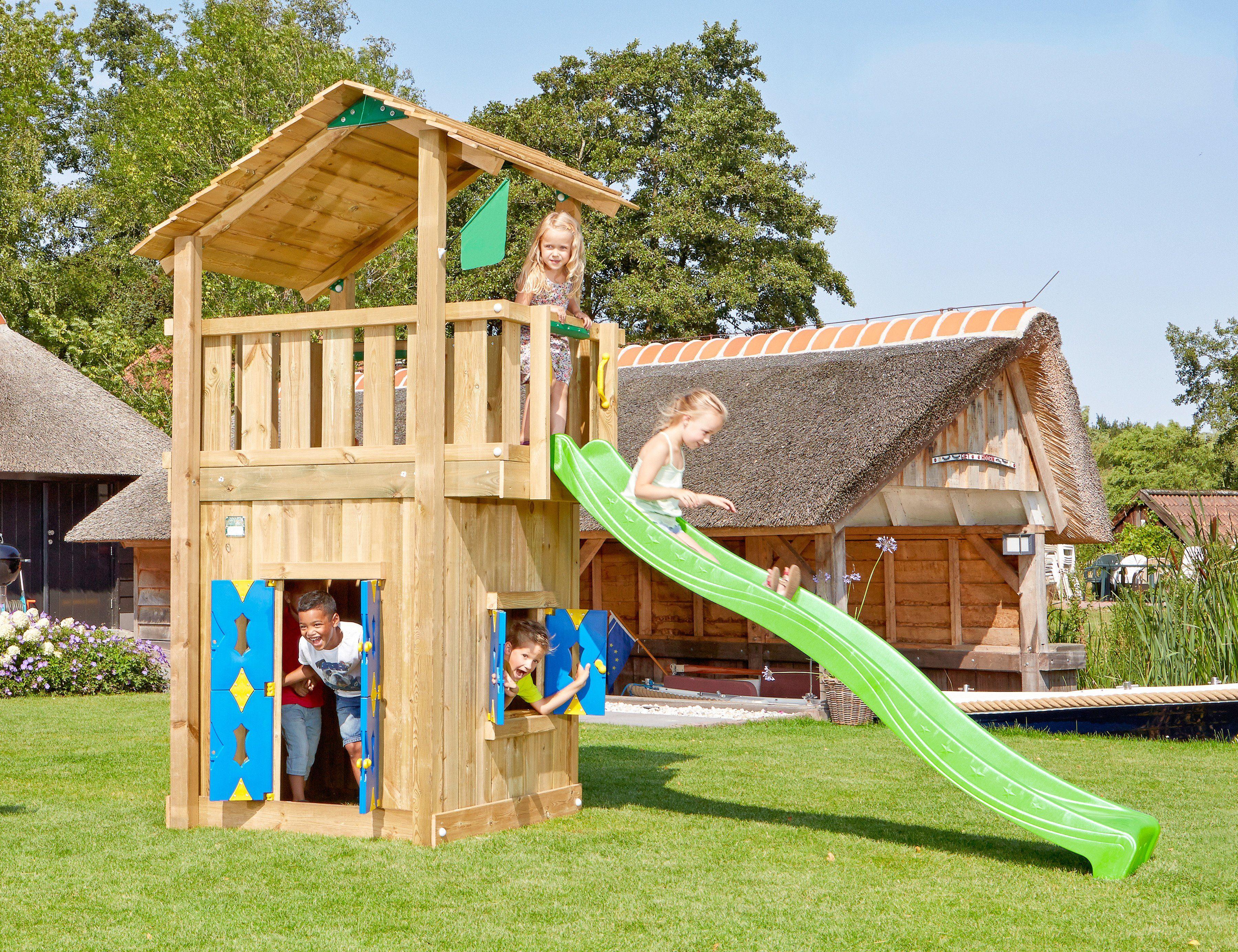 JUNGLE GYM Spielturm »Jungle Shelter Playhouse«, BxTxH ...