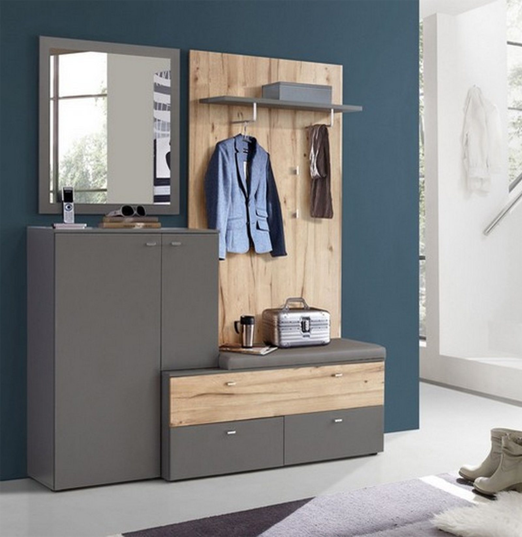 HTI Living Garderobe »Como«, Hochwertiges Material online ...