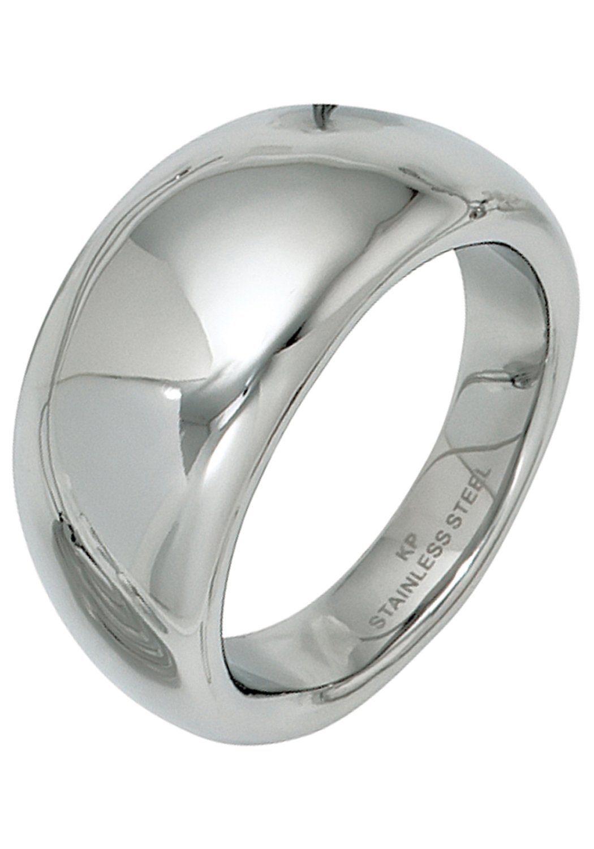 JOBO Fingerring Edelstahl Hochwertiger Ring online kaufen