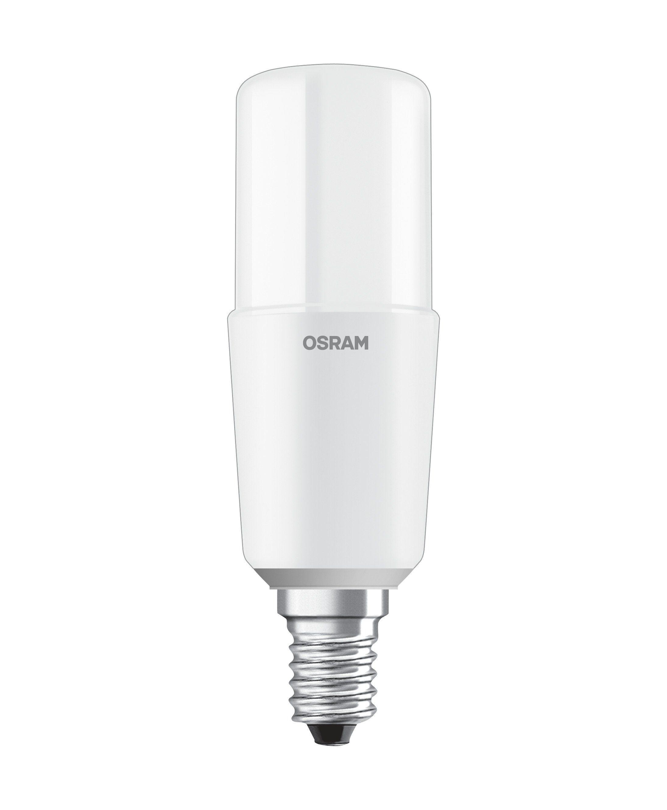 Osram LEDLampe klassische Stabform matt LED STAR STICK