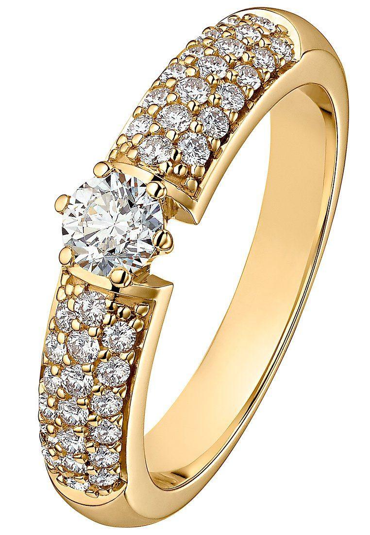 Billige goldene ringe  Modeschmuck