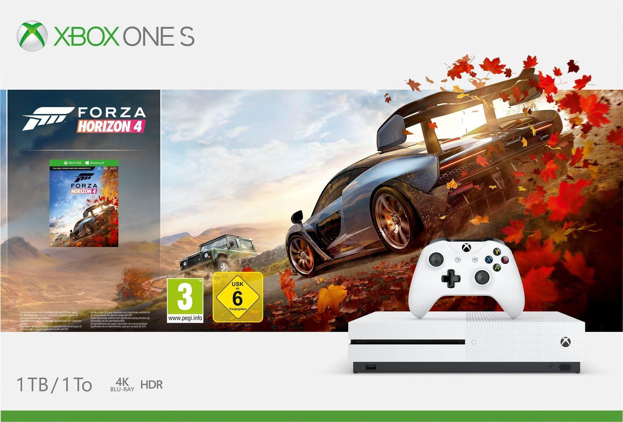Xbox One S 1TB Bundle Inkl Forza Horizon 4 OTTO