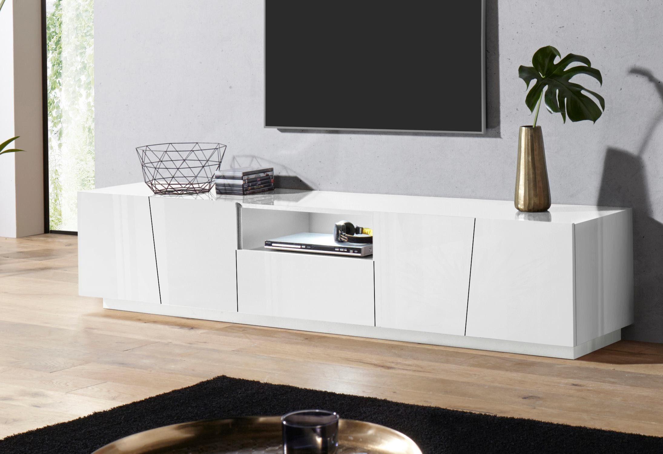 Tecnos Lowboard »Vega«, Breite 220 cm, 4 Türen online ...