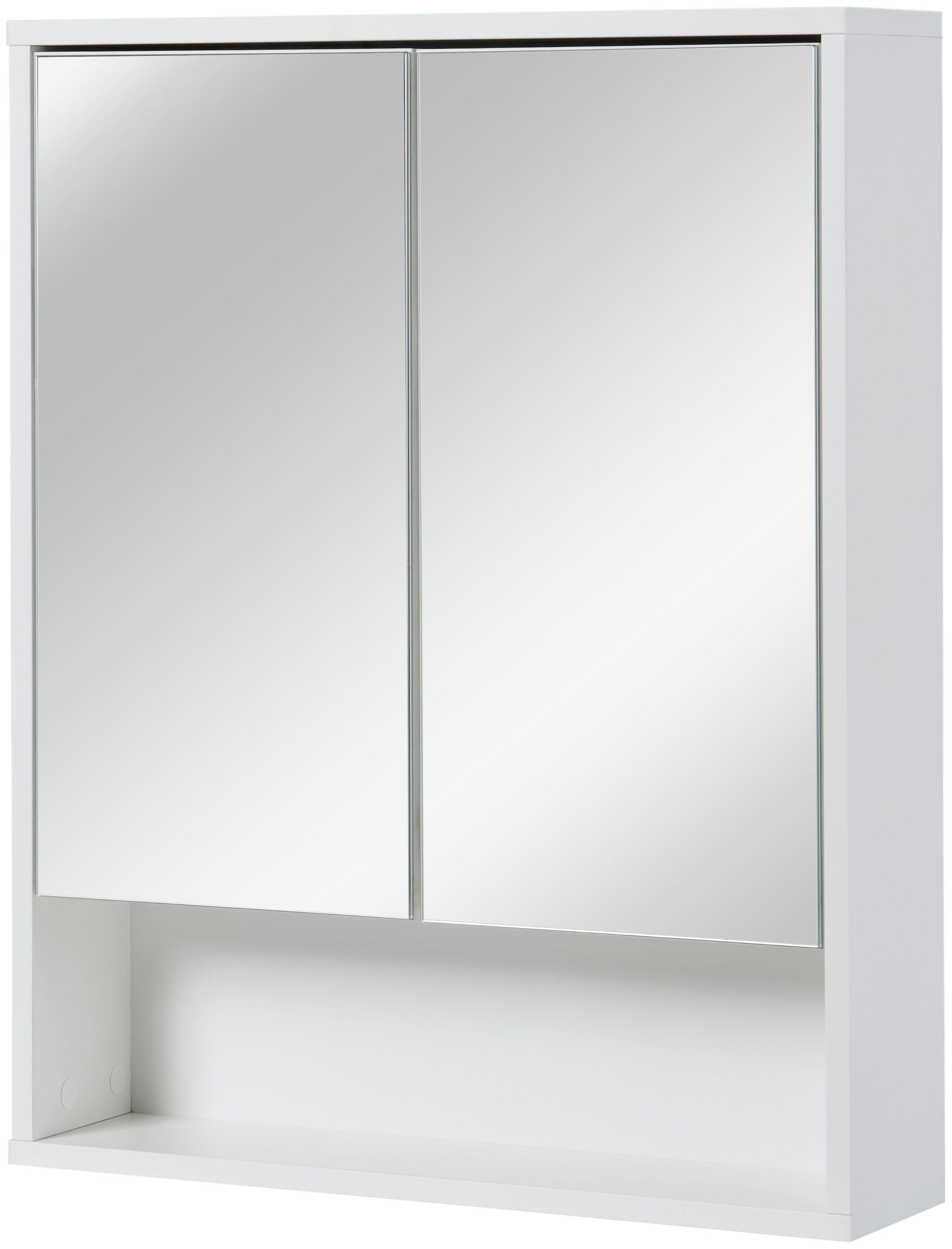 Spiegelschrank 60 Cm Breit Alu Badmöbel Set Montreal Mit